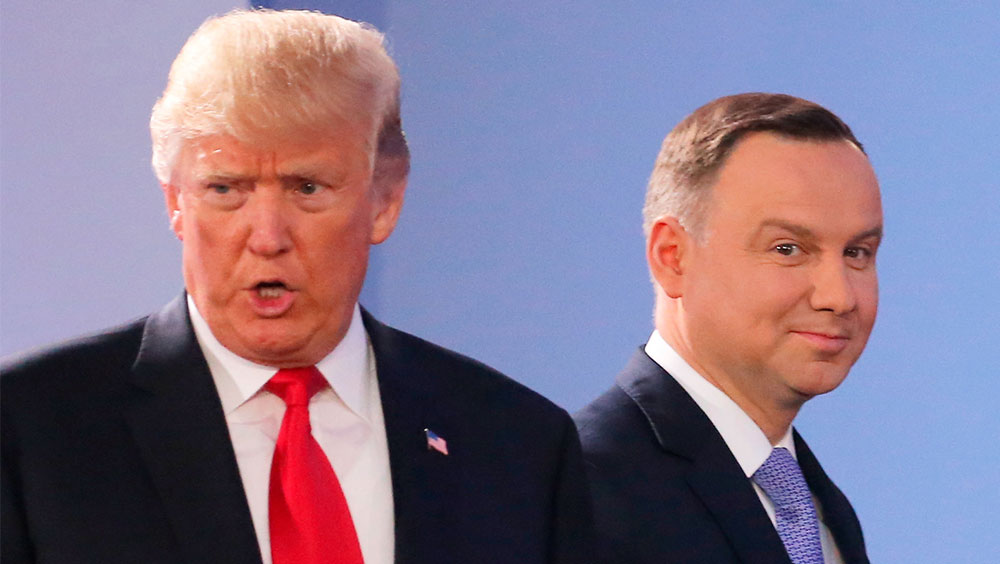 "Trump again demands more NATO spending, mulls ""severe things"" on N.Korea"
