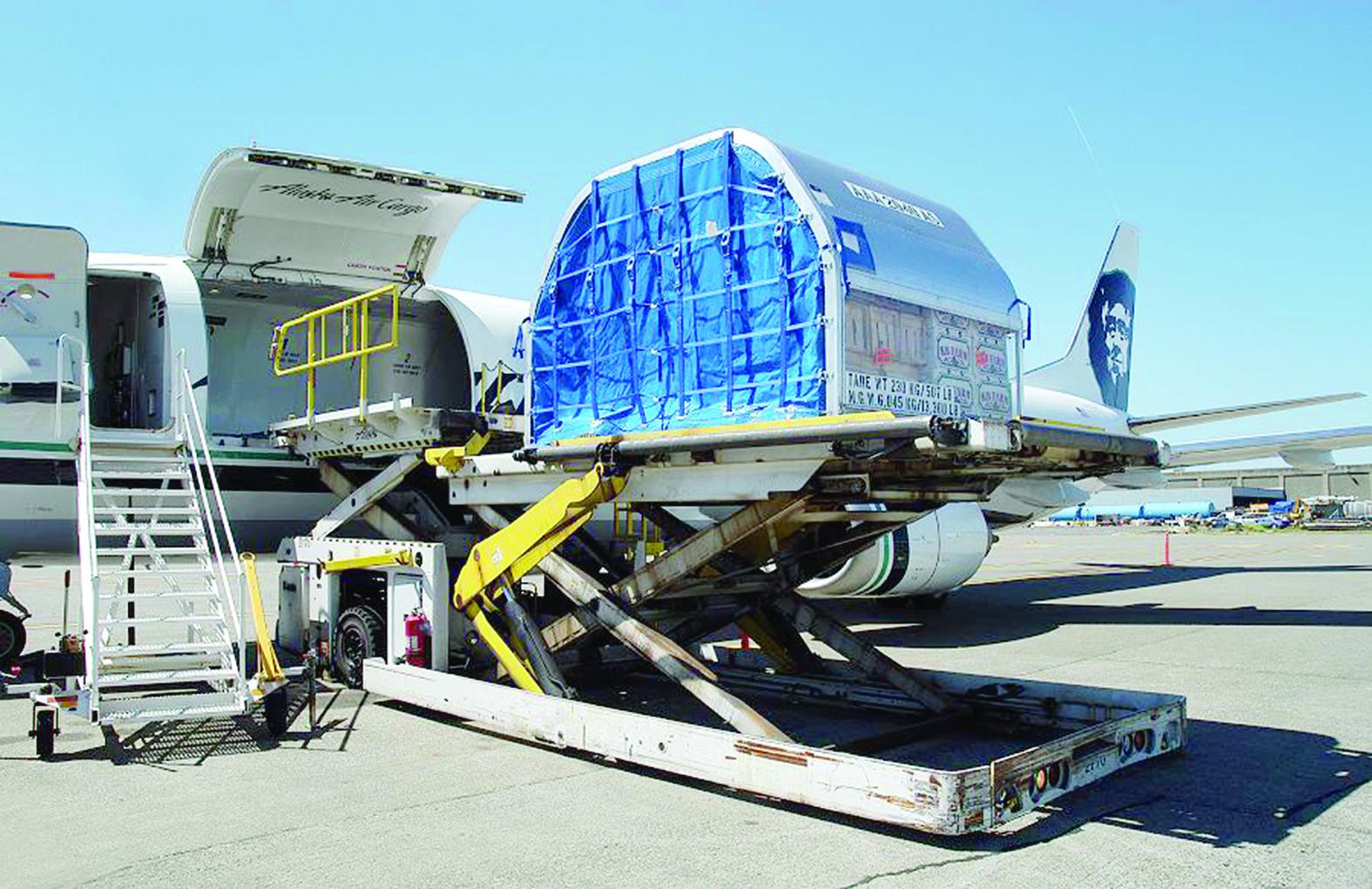13 % نمو الطلب العالمي على الشحن الجوي