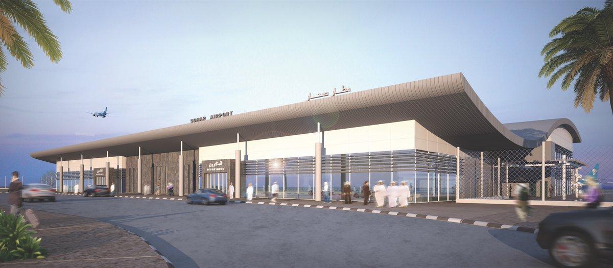 مطار صحار قادر على استقبال أكبر الطائرات في العالم .. وتقدر طاقته الإستيعابية بـ 250 ألف مسافر سنوياً