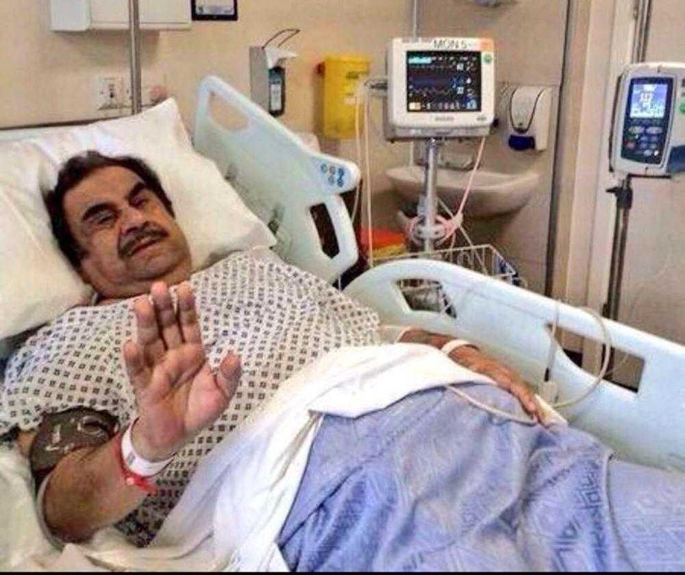 هذه هي مستجدات الحالة الصحية للفنان عبدالحسين عبدالرضا