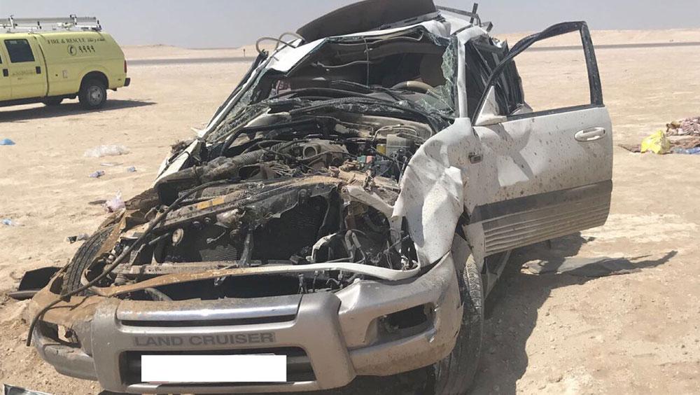 Nine injured in second car crash in Haima