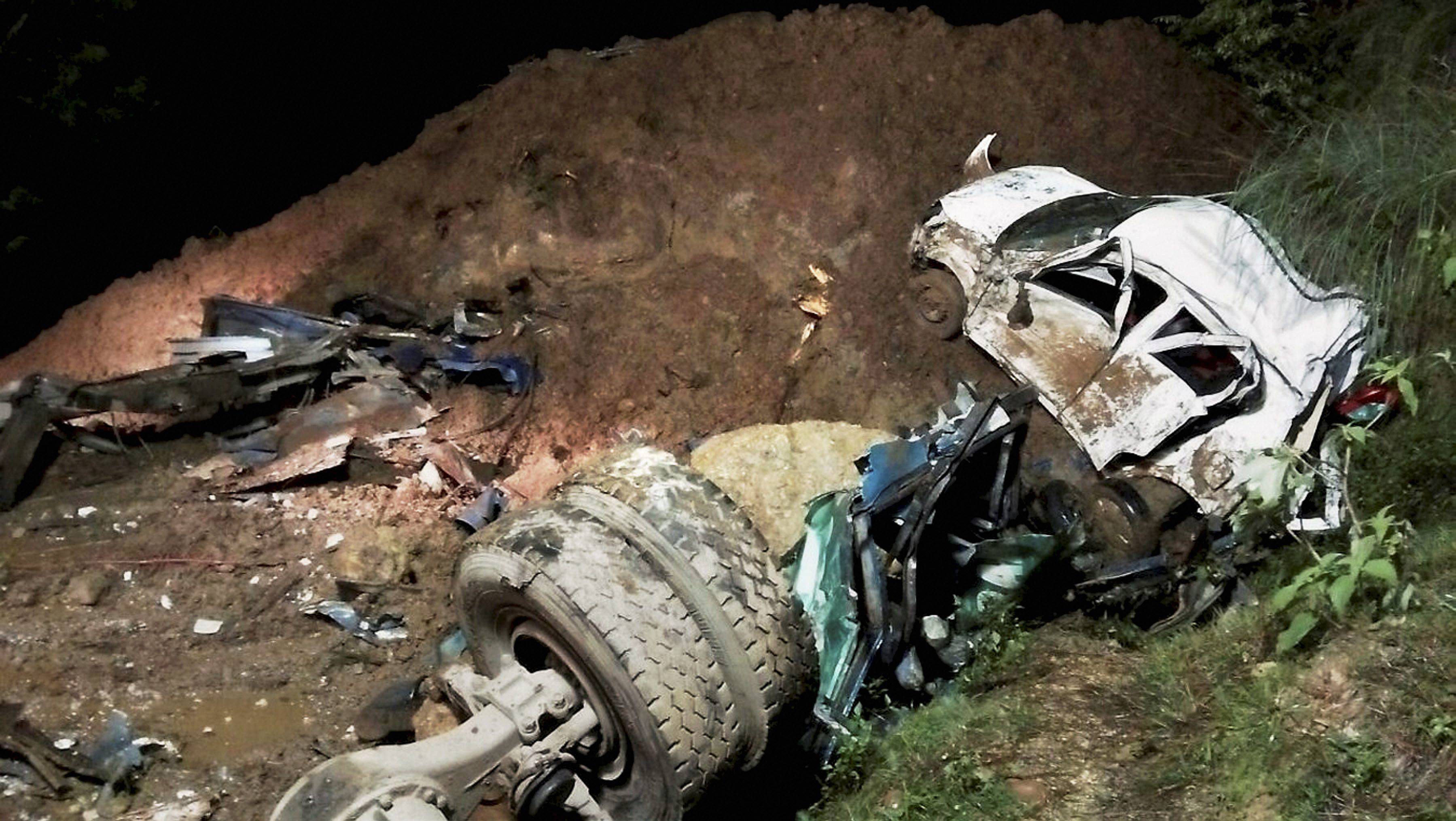 At least 46 dead in landslide in northern Indian state of Himachal Pradesh