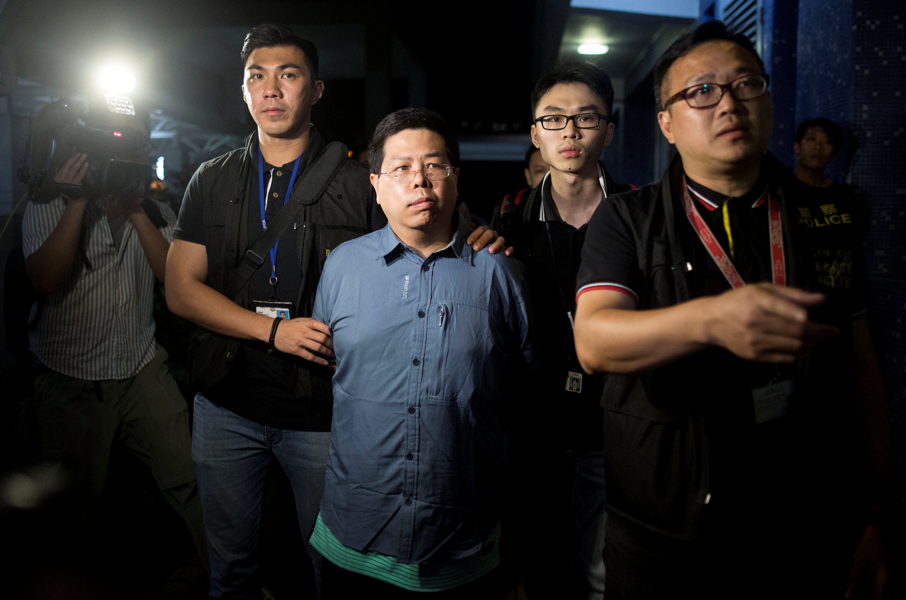 Hong Kong's Democratic Party member held for 'misleading' police after abduction claims
