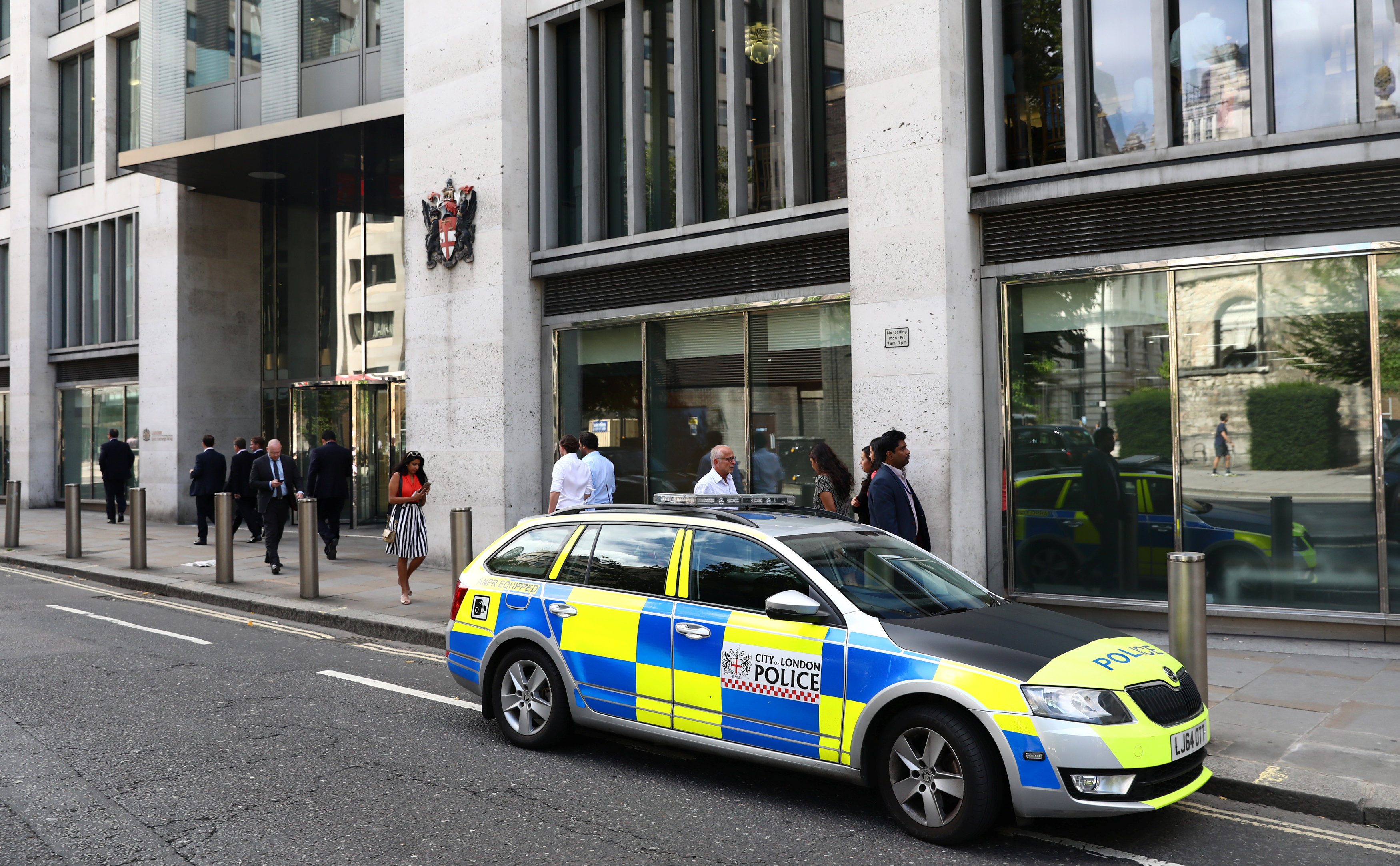 Employee plunges to death from balcony of London Stock Exchange
