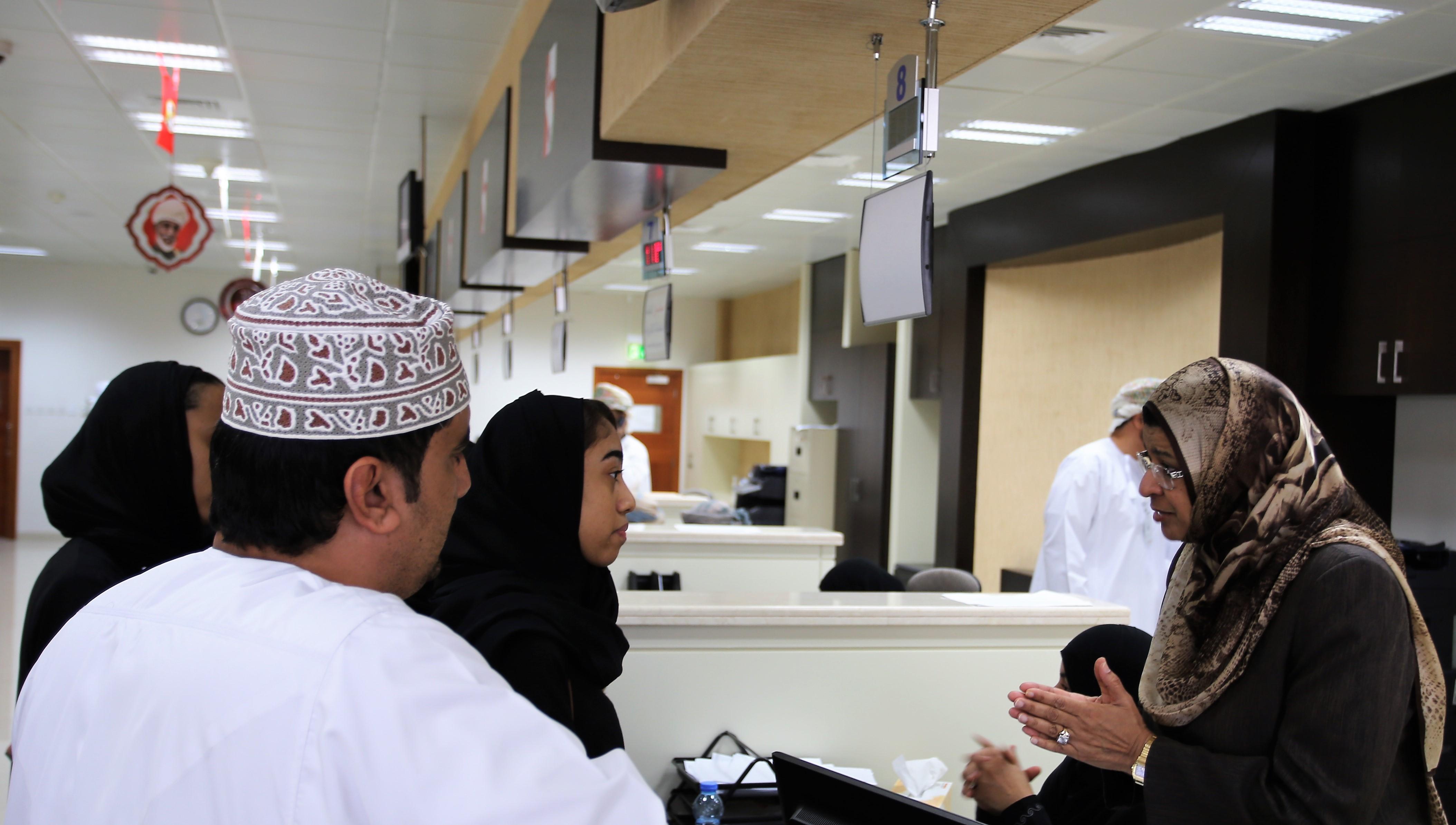 وزيرة التعليم العالي تزور مركز خدمات المراجعين