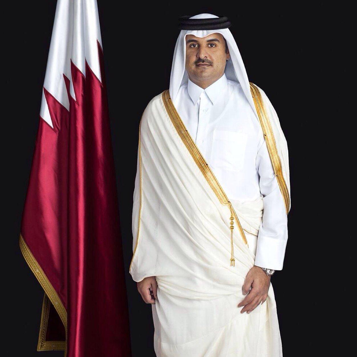 تميم بن حمد يتقبل أوراق اعتماد نجيب البلوشي سفيرًا للسلطنة في دولة قطر