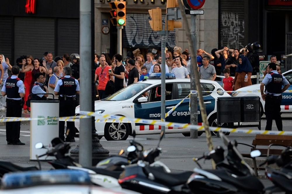 ضحايا برشلونة وكامبريلس من 34 دولة مختلفة