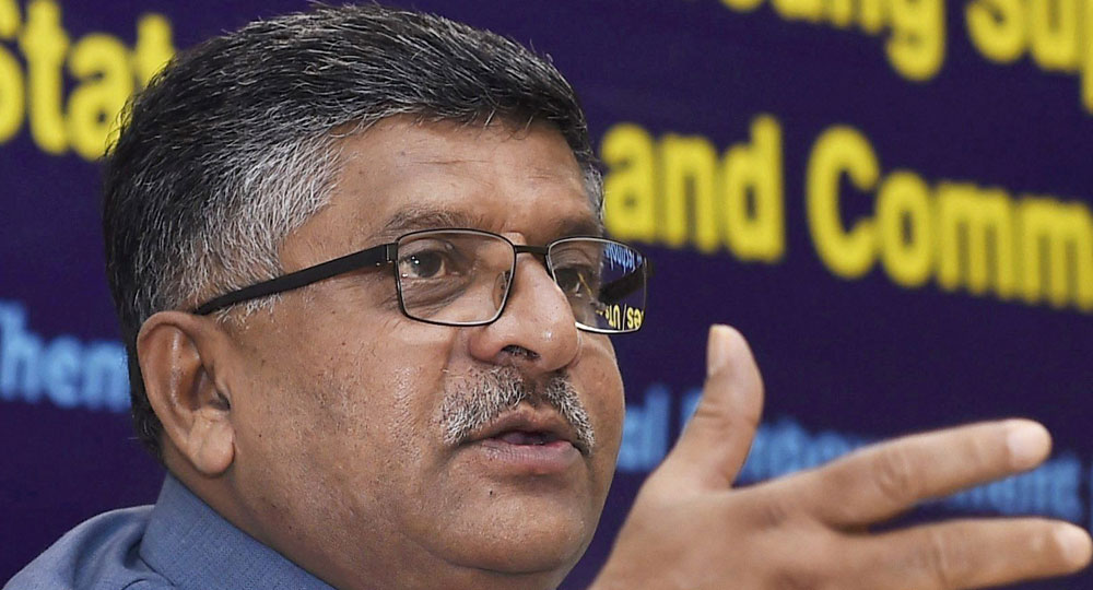 Cyber attacks on India minimum, but government is alert, says Law and IT minister