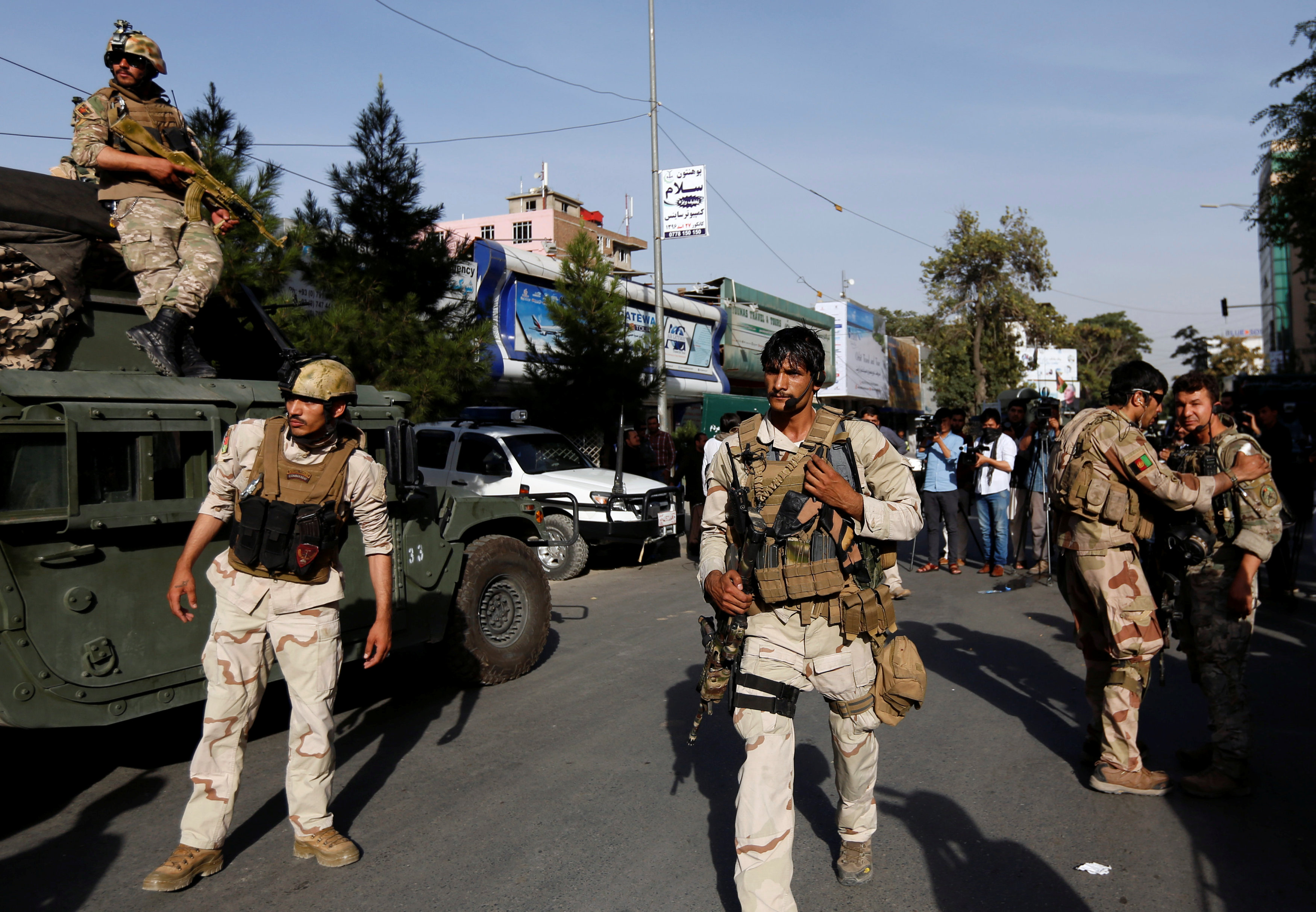 Embassy attack in Afghanistan