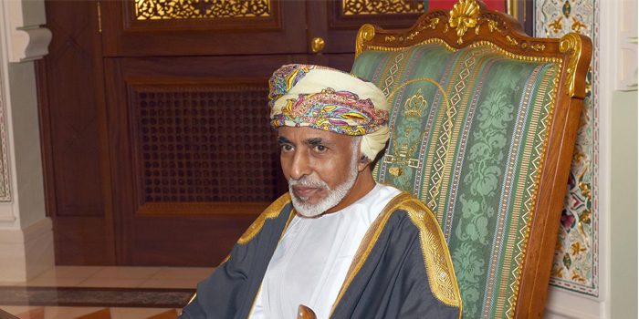 His Majesty Sultan Qaboos sends greetings to India