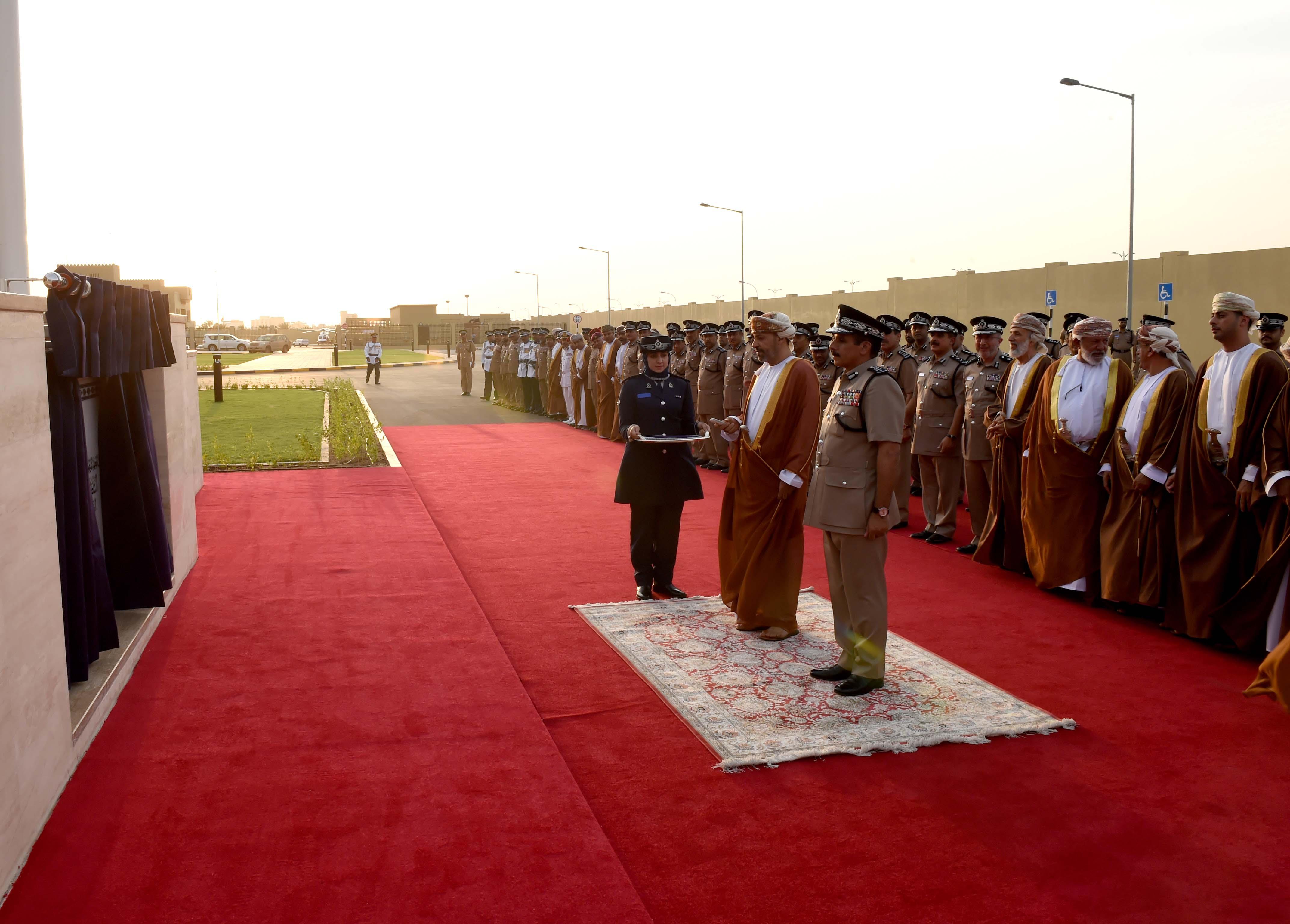 Royal Oman Police command opens in Al Buraimi