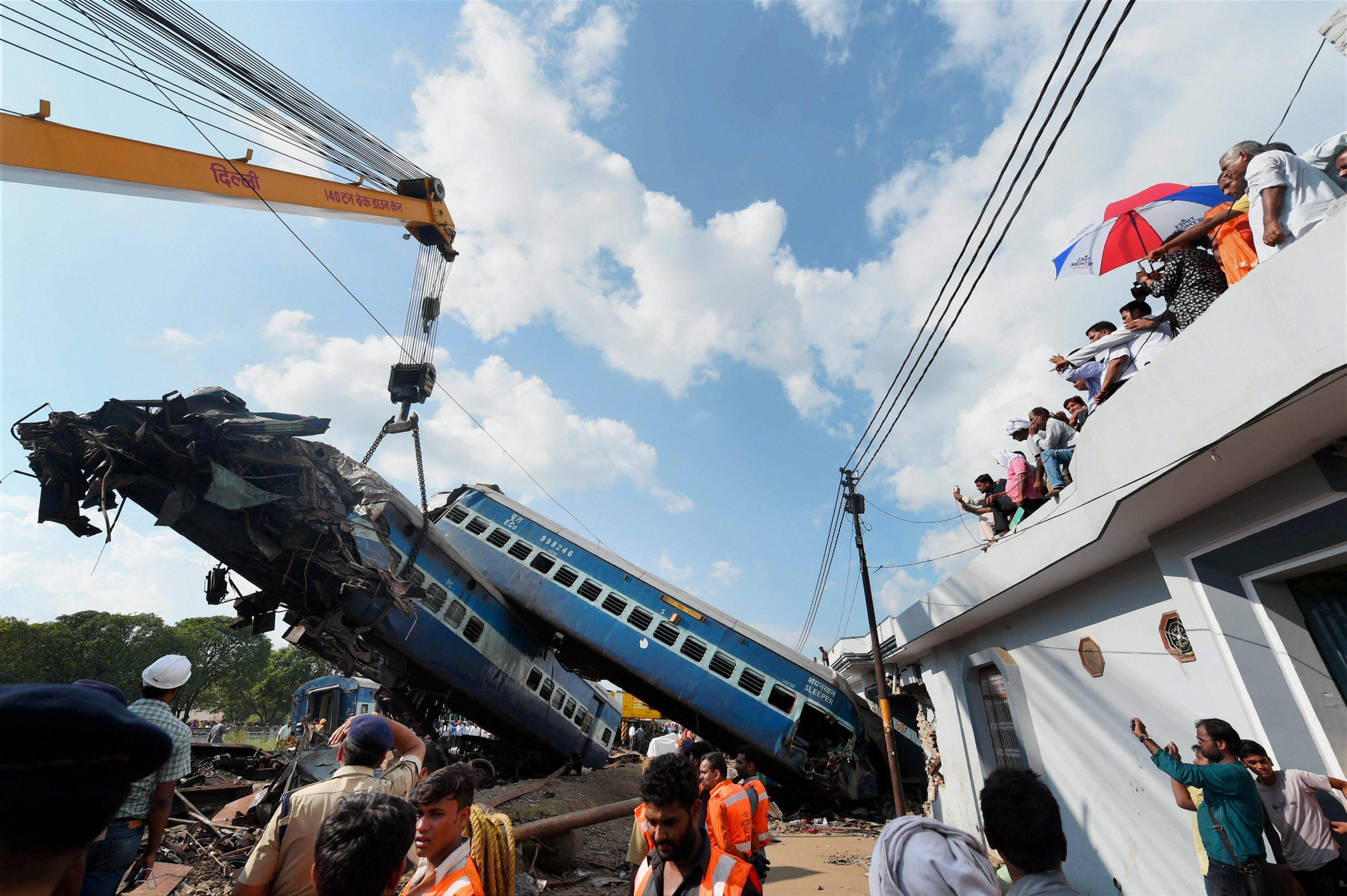 Utkal Express derailment: Action taken against secretary-level officer, 7 other officials