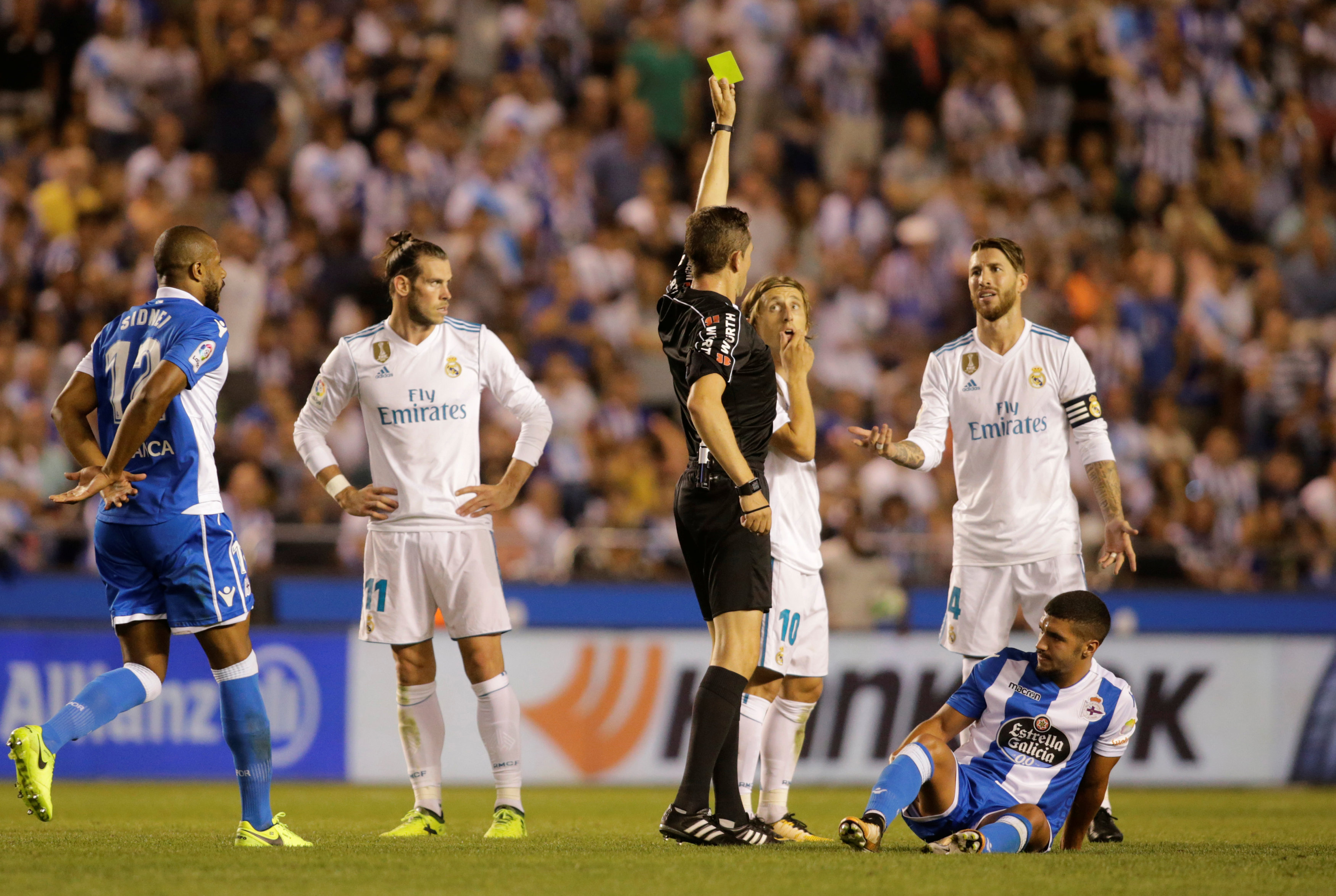 Football: Real Madrid's Ramos asks for more leniency from referees after red card record