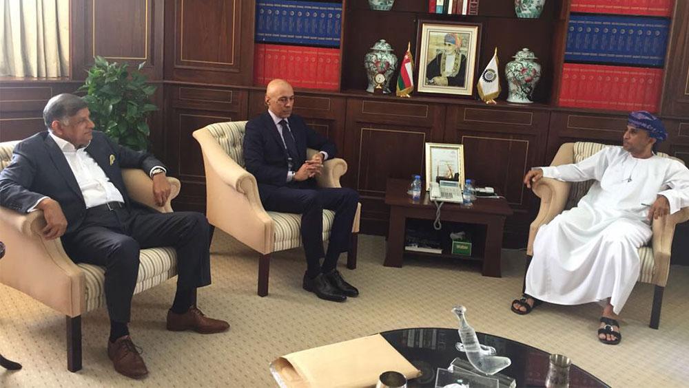 Pakistani ambassador Ali Javed meets with OCCI chairman