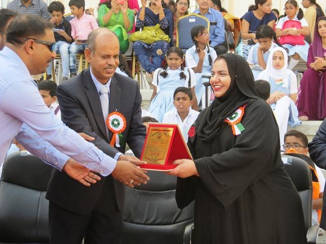 Indian School Al Maabela celebrates Indian Independence Day in Oman