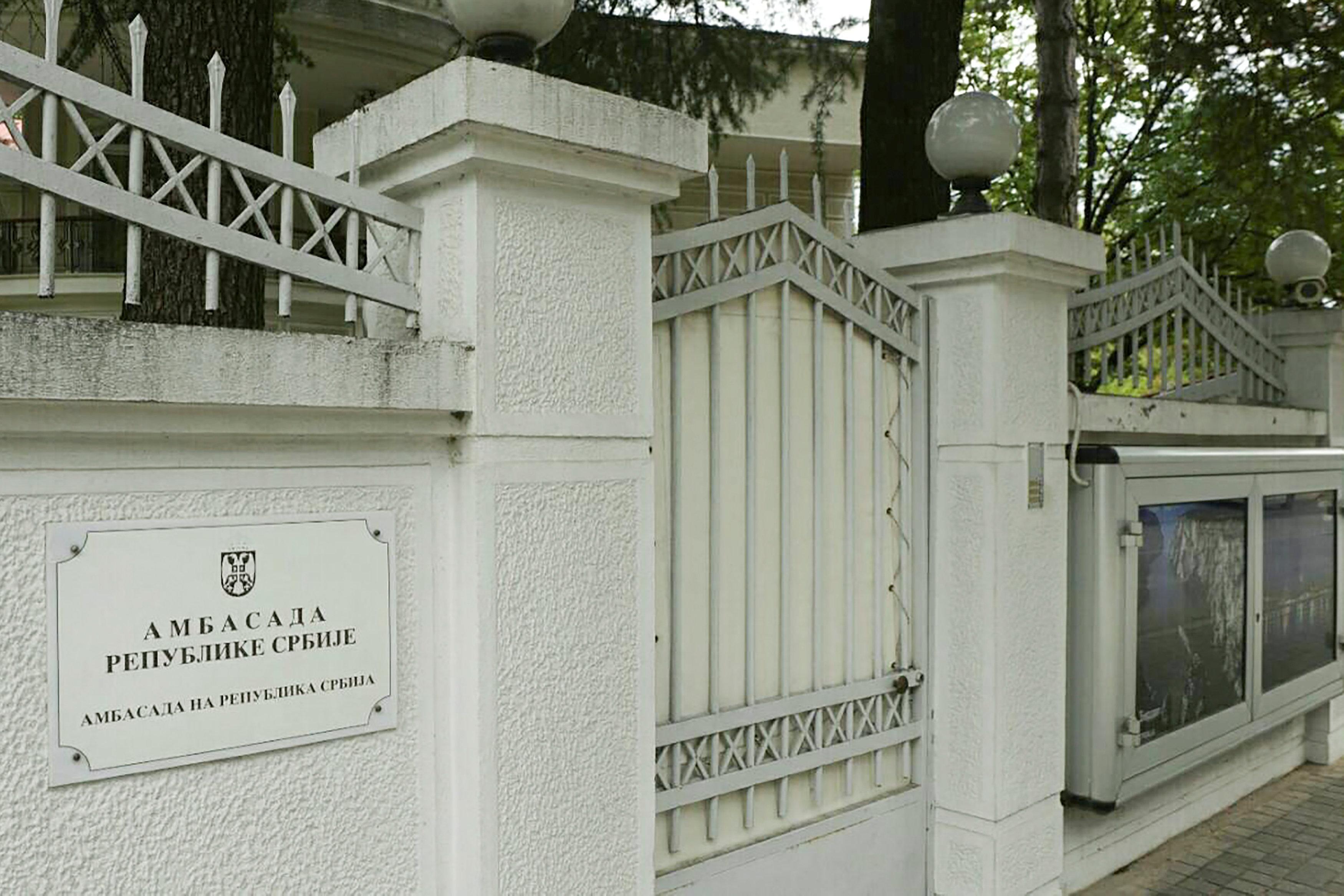 Serbia recalls embassy staff from Macedonia