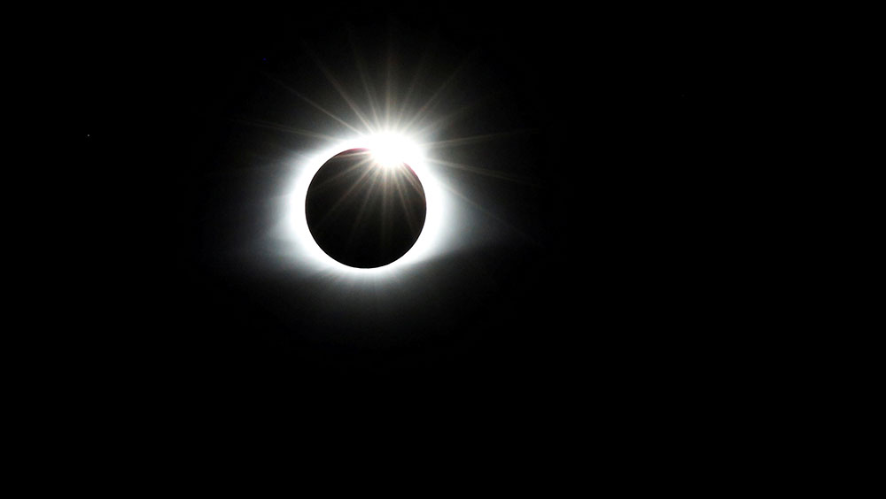 In pictures: Total solar eclipse captures attention of Americans