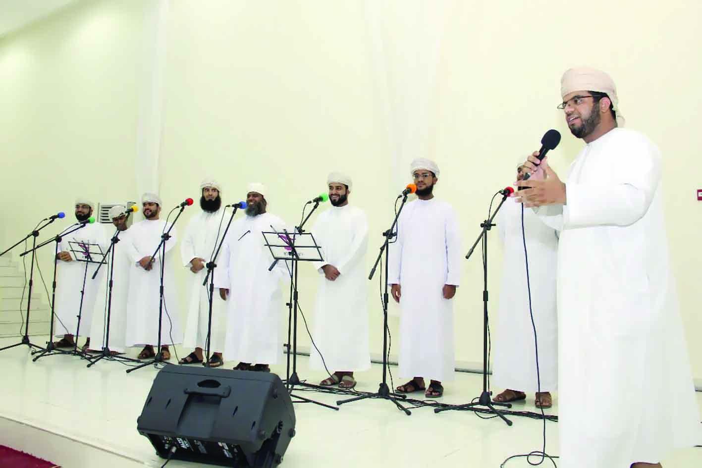فرقة ترانيم تكرم الفائزين بمسابقة الإنشاد «صوت وصورة»