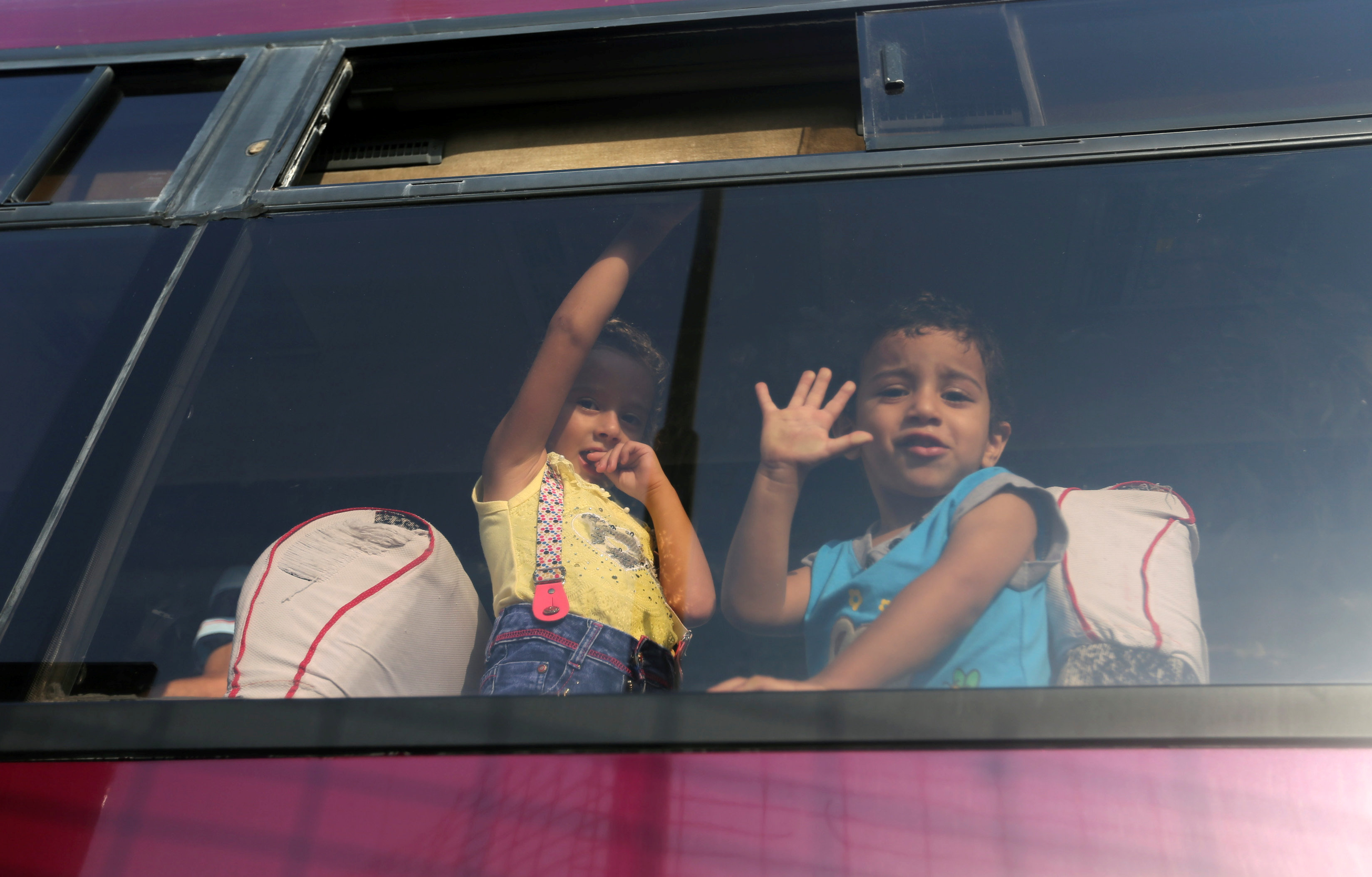 In pictures: Palestinians wait to enter Egypt from Gaza Strip at Rafah border crossing