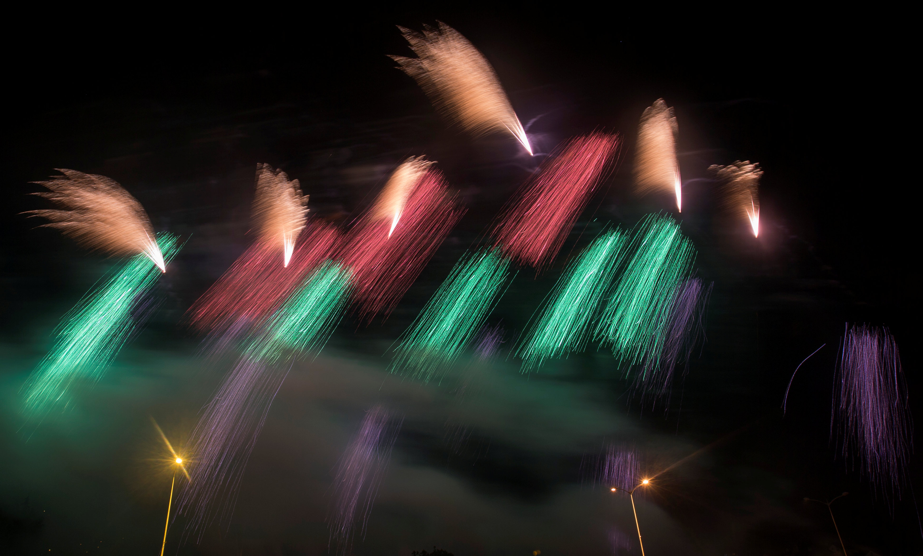 In pictures: International fireworks festival in Belarus
