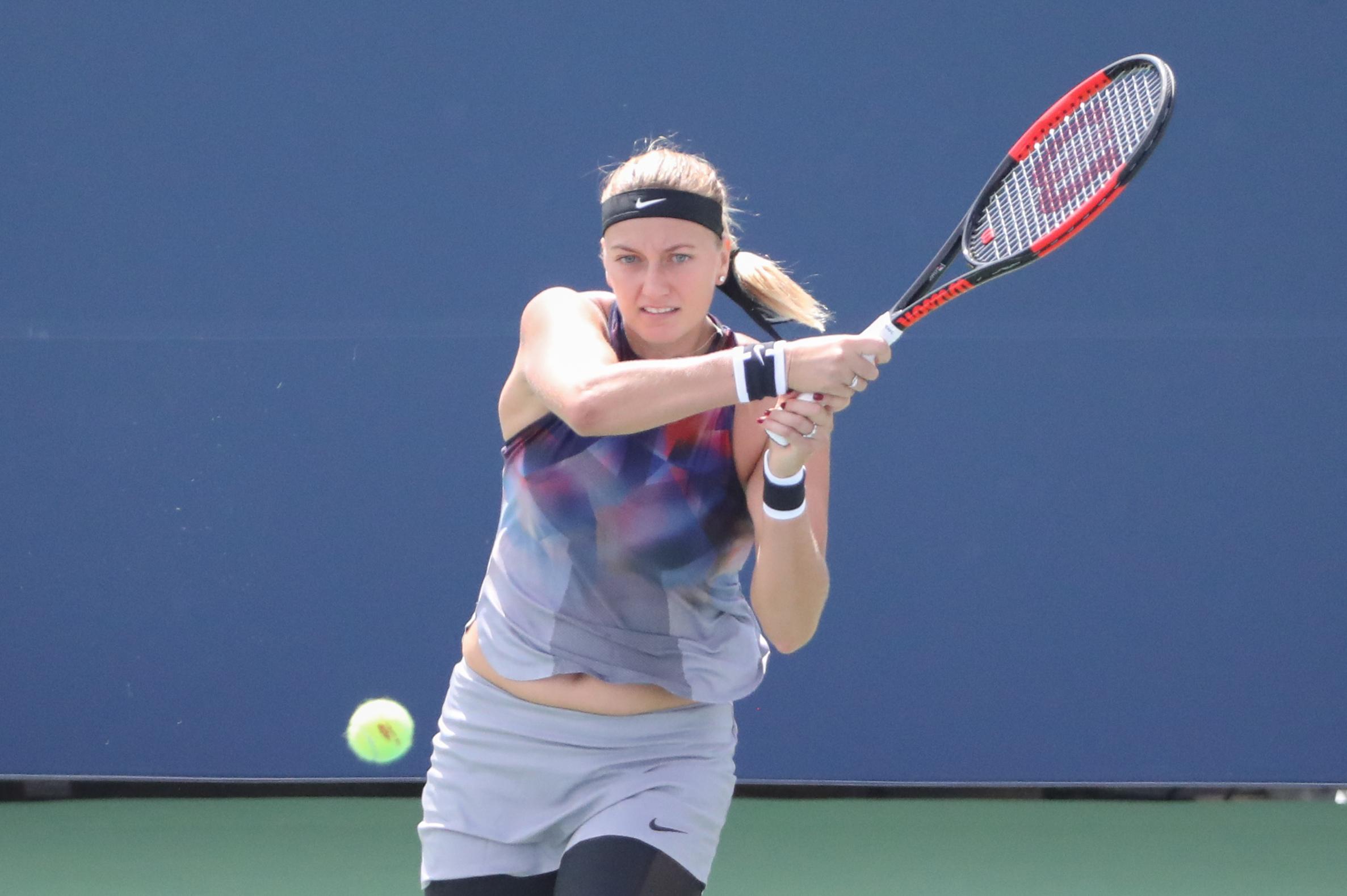 Tennis: Petra Kvitova wears down Jelena Jankovic to reach U.S. Open round two