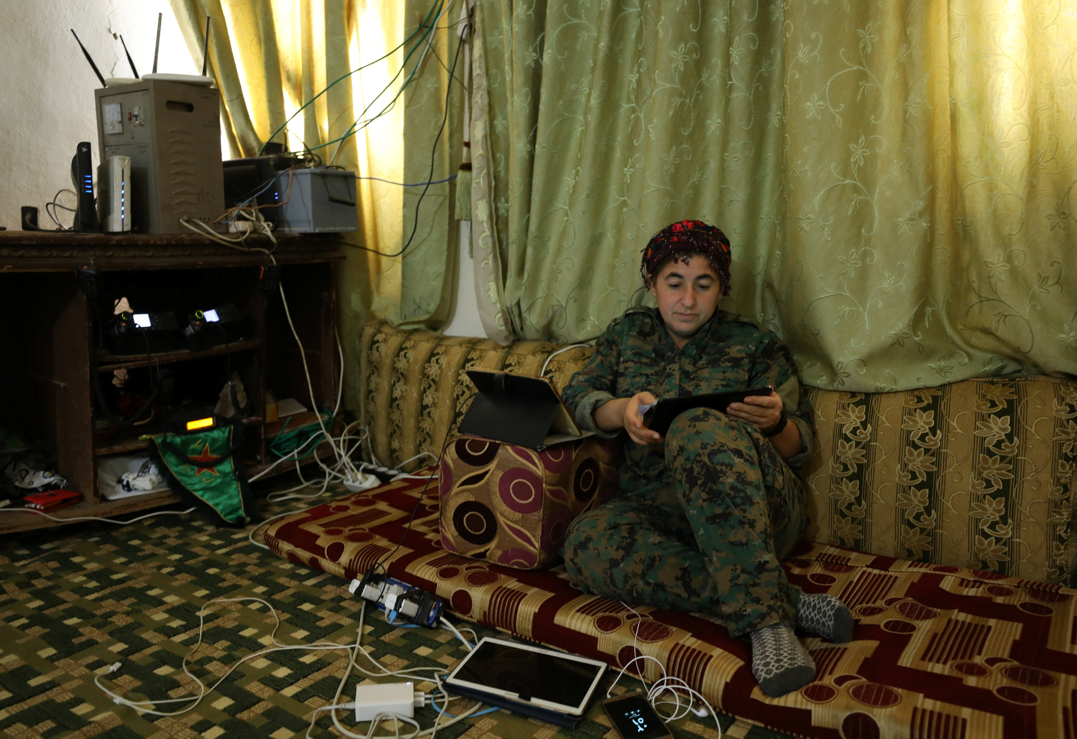 U.S.-backed Raqqa battle should end in two months: Syria rebel commander