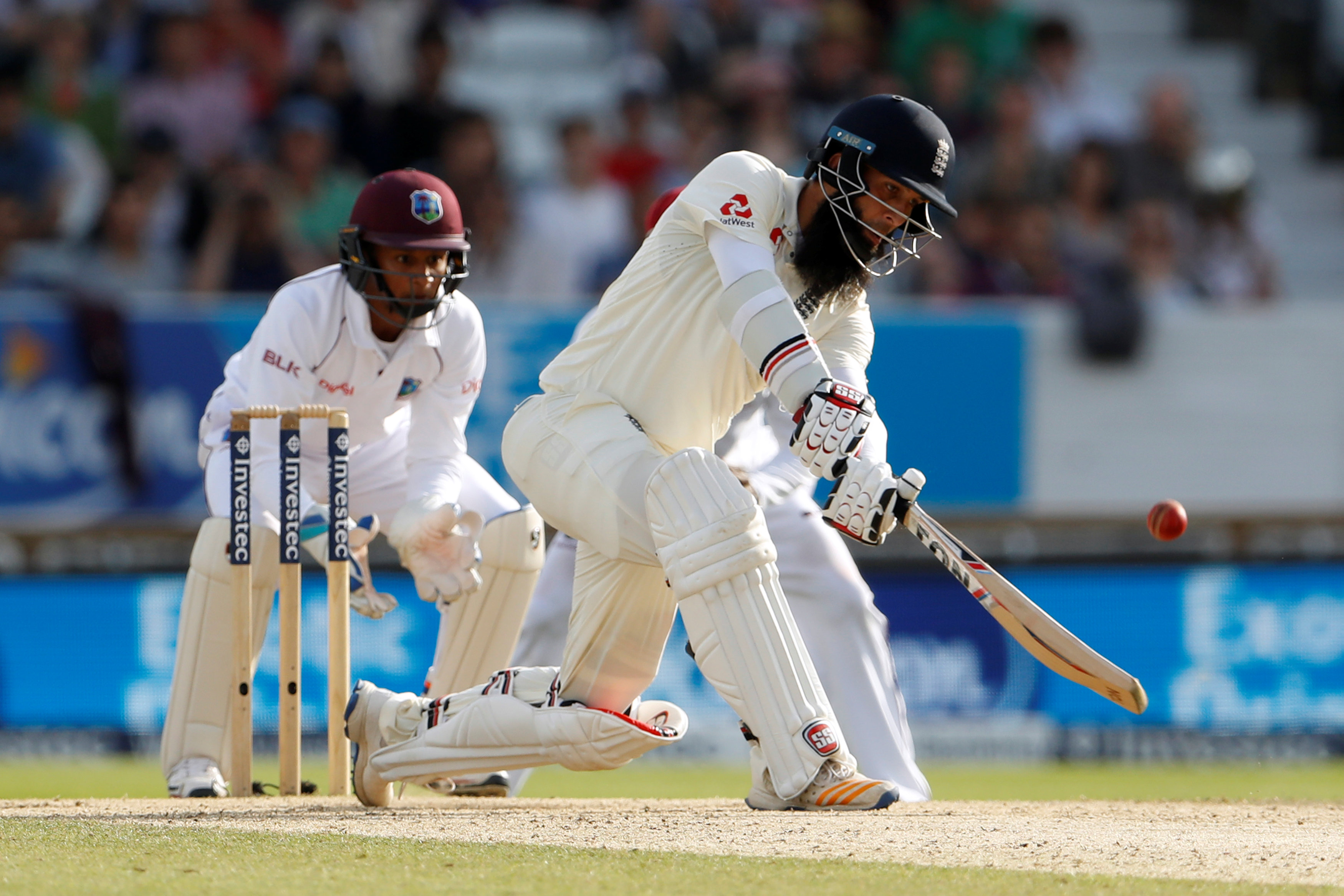 Cricket: Moeen delivers again as England take charge against West Indies