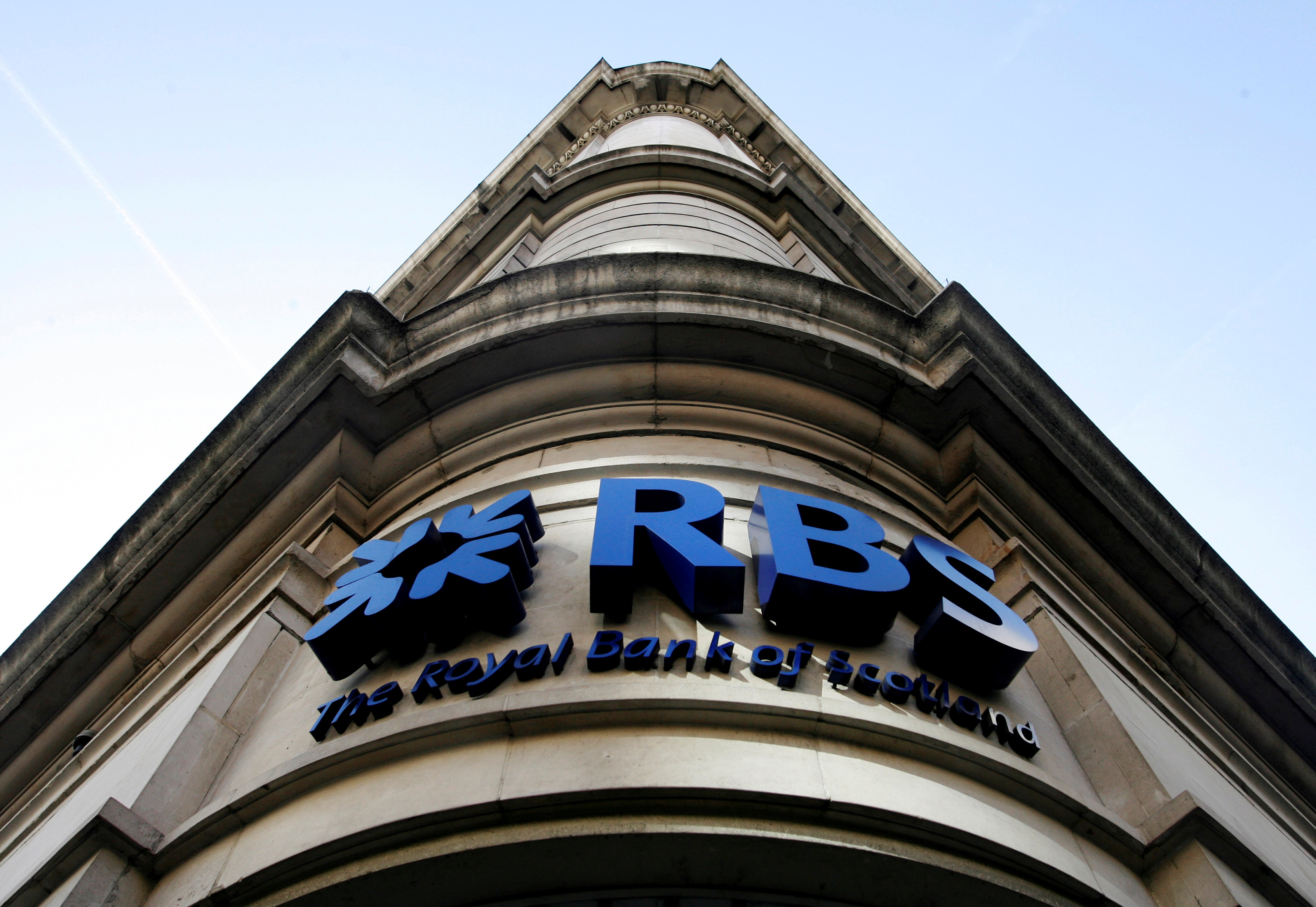 RBS makes first-half profit, may move some jobs to Amsterdam