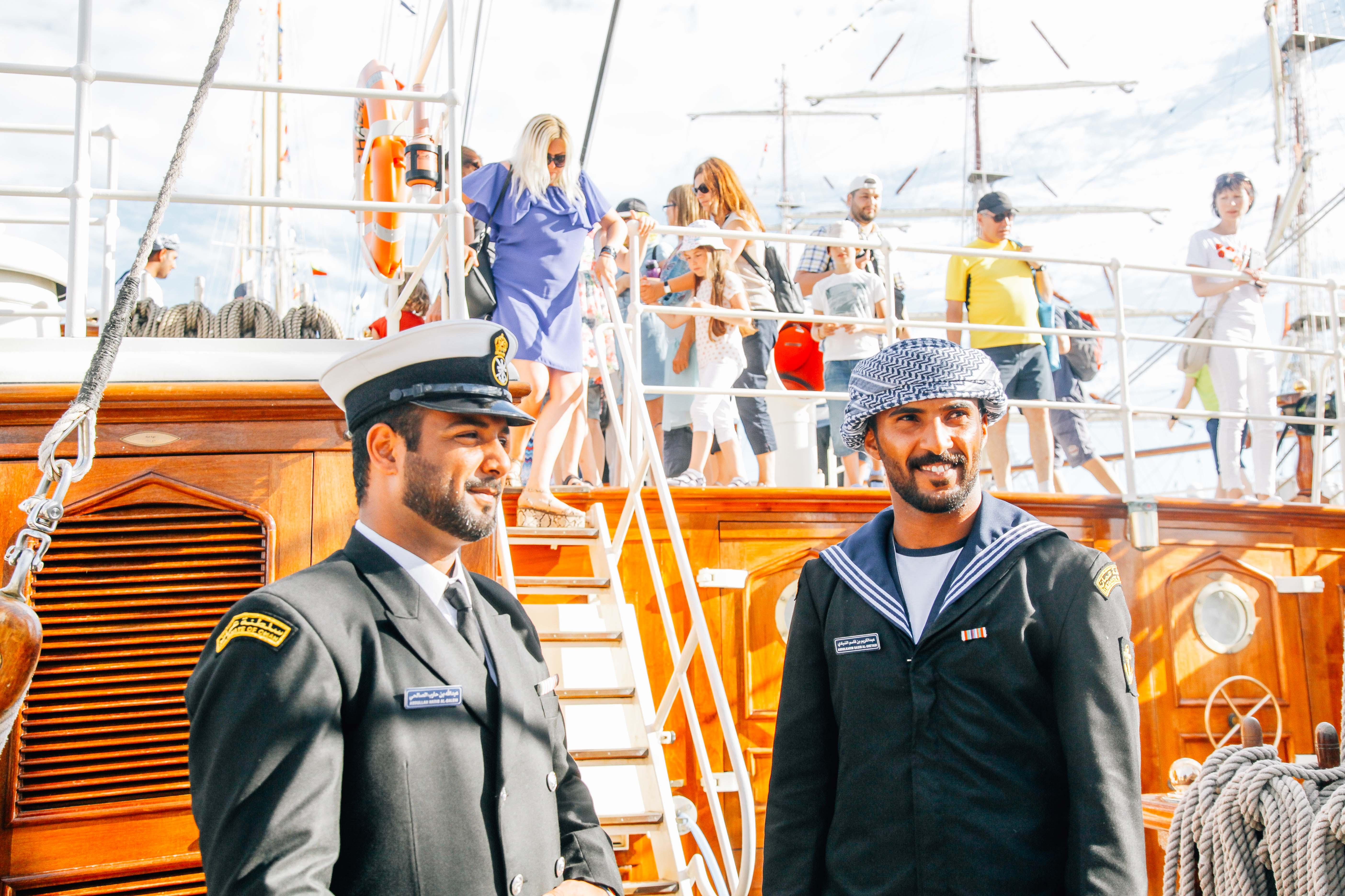 Shabab Oman II: Representing Oman's heritage and tradition