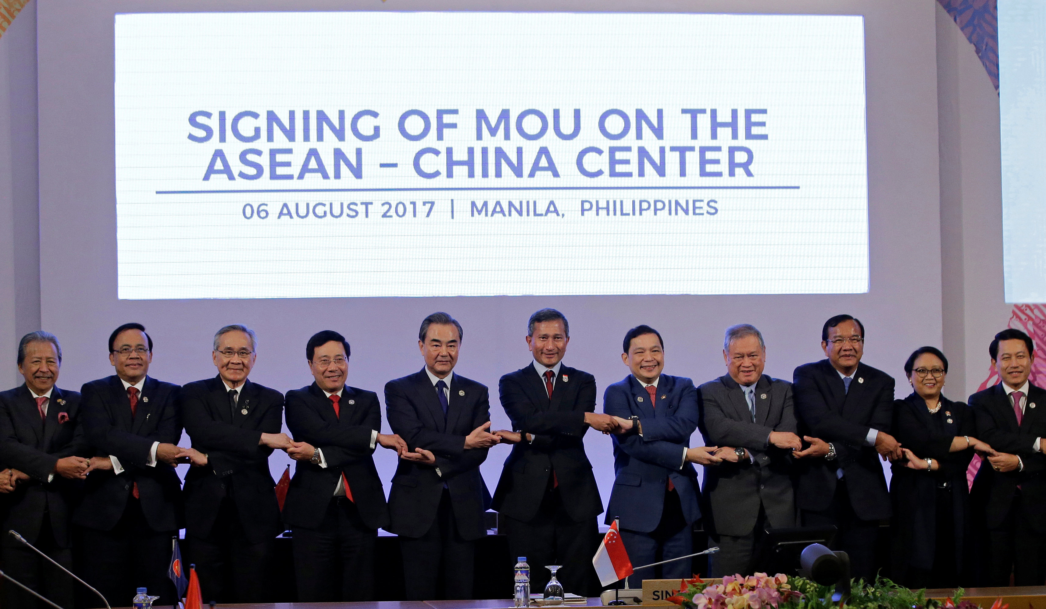ASEAN urges non-militarisation in South China Sea
