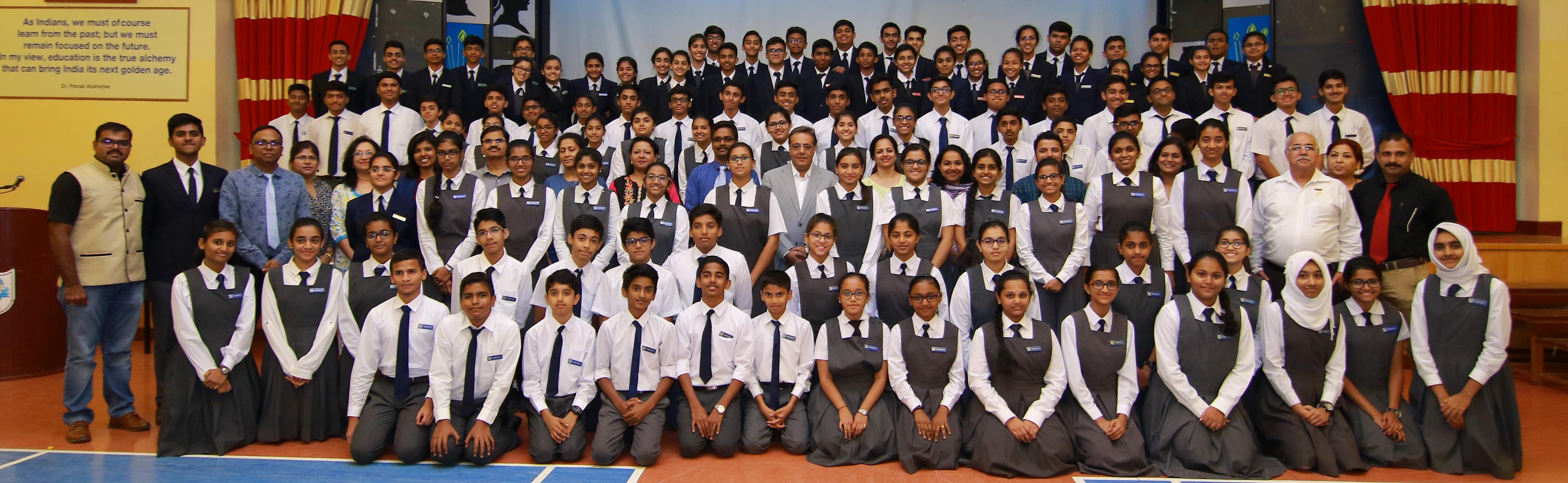 Indian School Wadi Kabir Student Council holds leadership programme