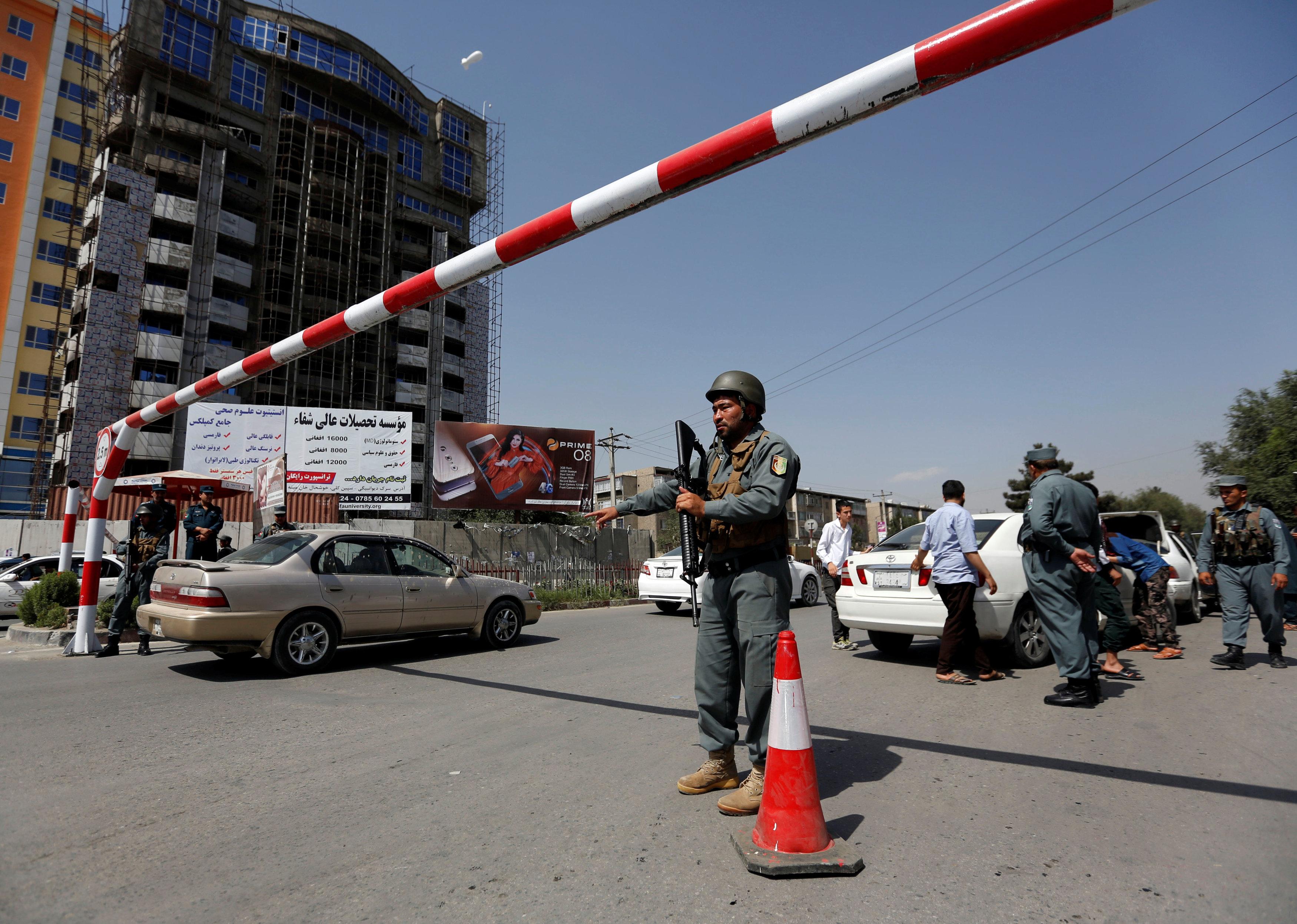Afghan capital Kabul's 'Green Zone' tightened