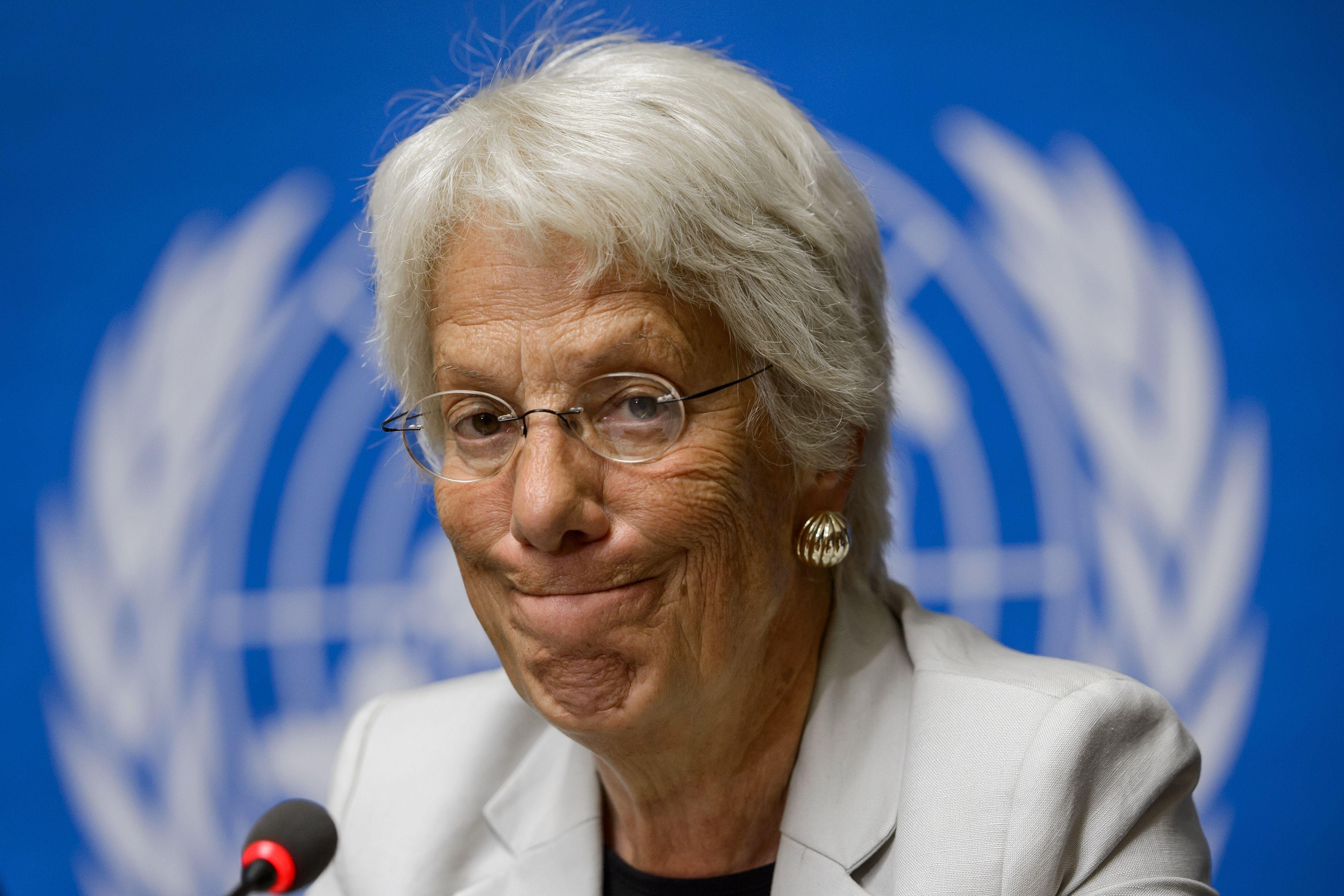 Syria investigator Carla del Ponte quits, blaming UN Security Council
