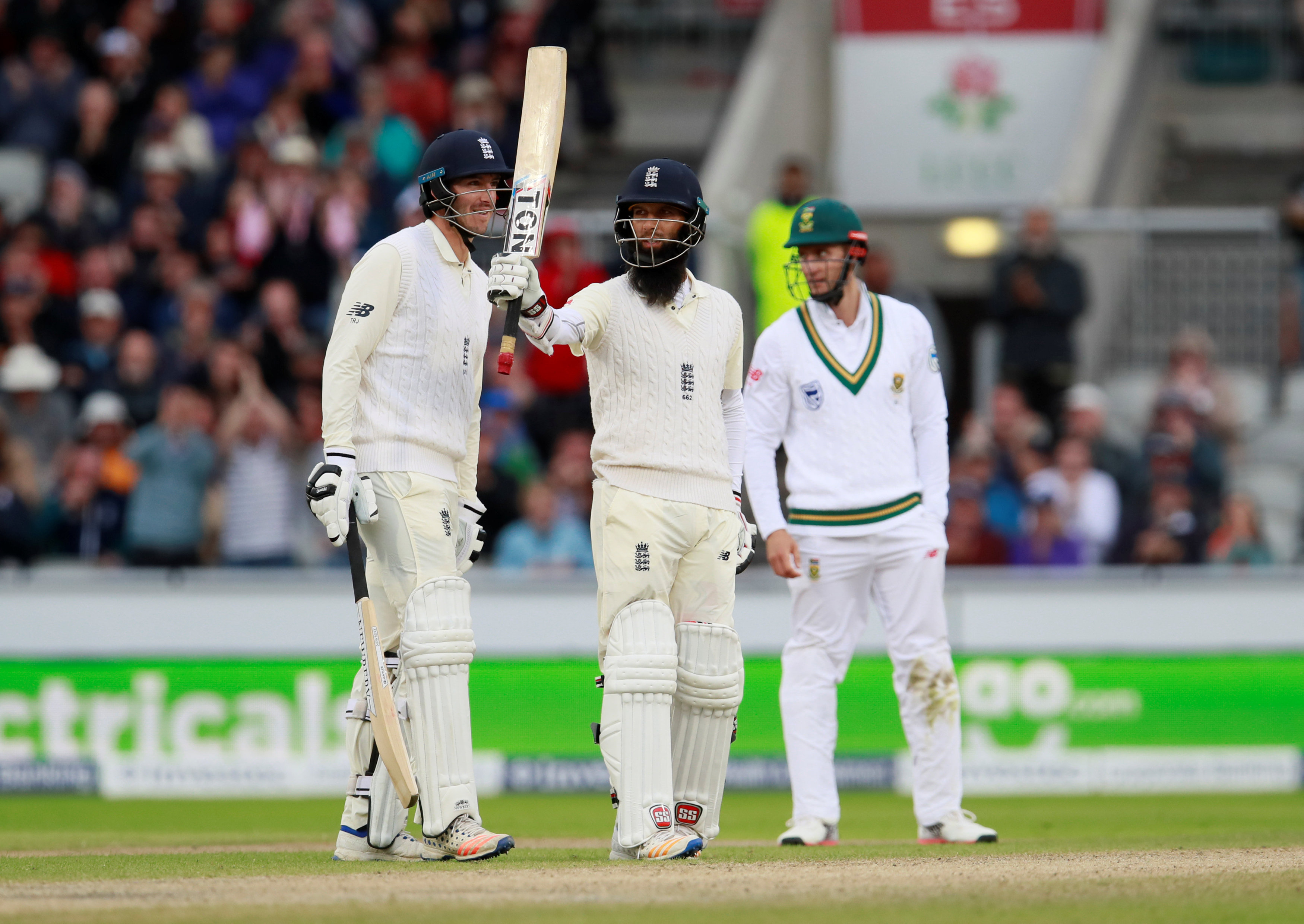 Cricket: Moeen Ali keeps England in control of fourth Test against South Africa