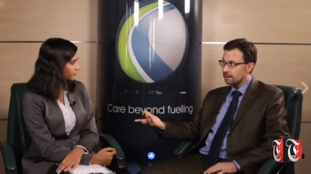 Lunchtime Live: Oman Oil Marketing Company CEO David Kalife