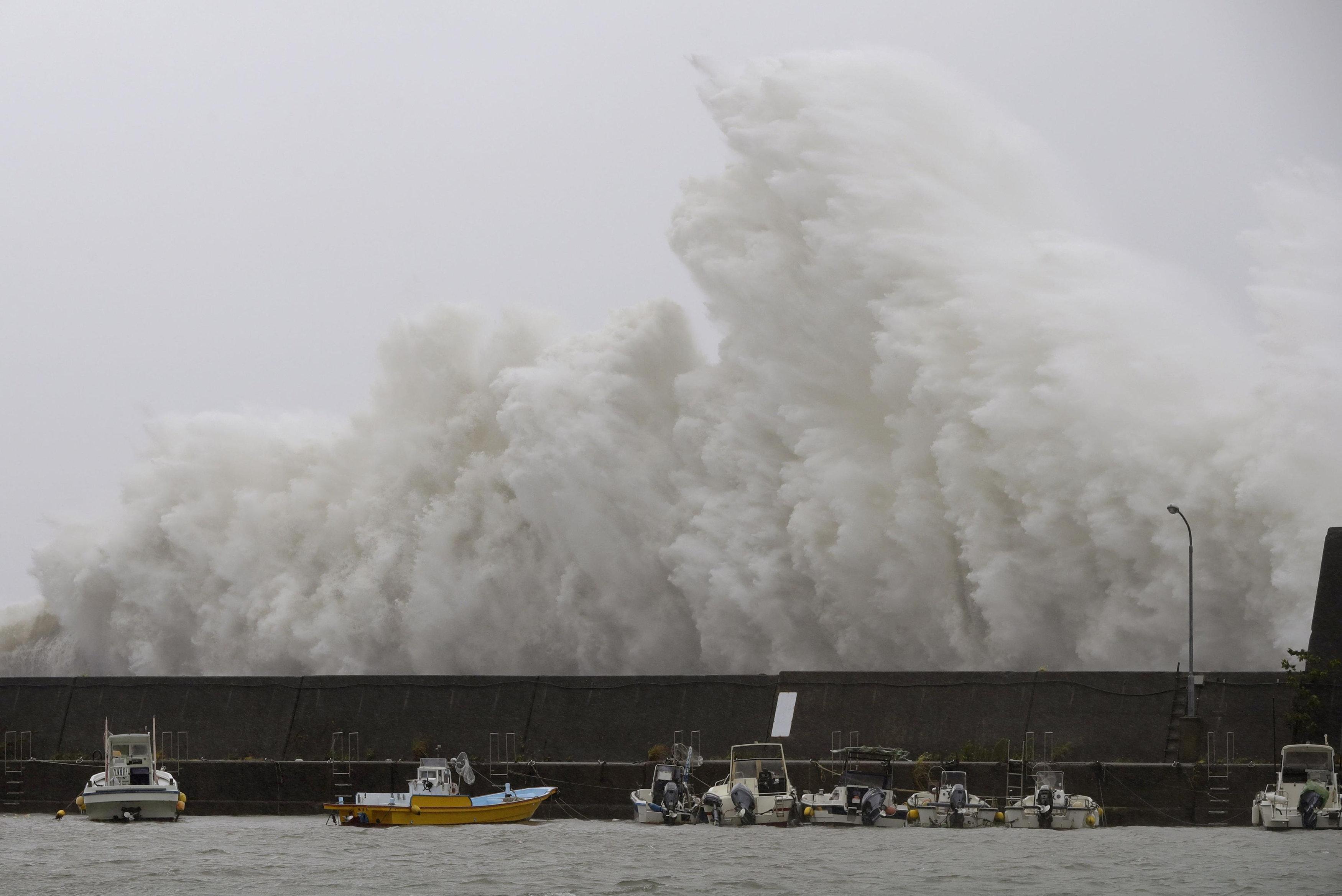 Typhoon Noru makes landfall, batters central Japan with rain