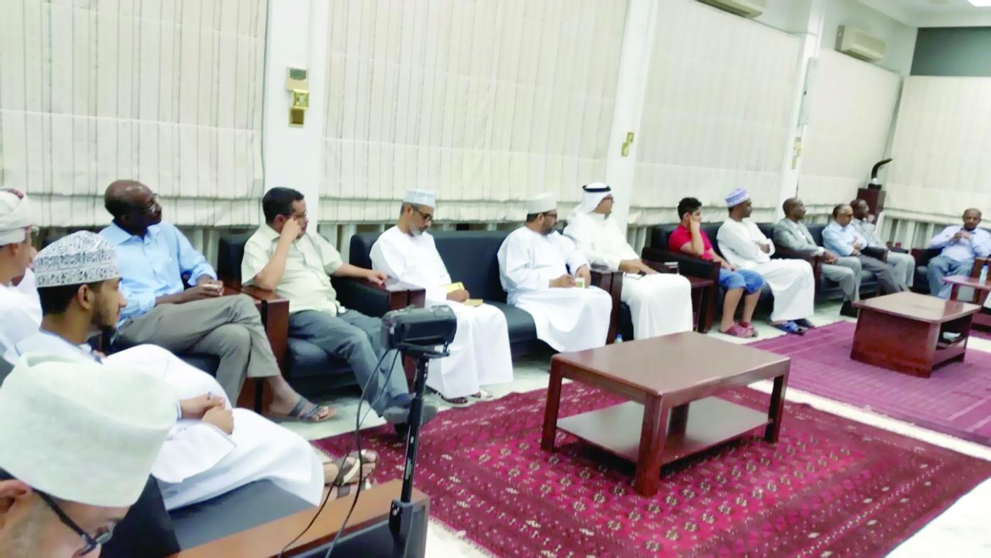محاضرة بعنوان «التقنيات الأسلوبية في سرد القصة القصيرة السودانية» بالنادي الثقافي