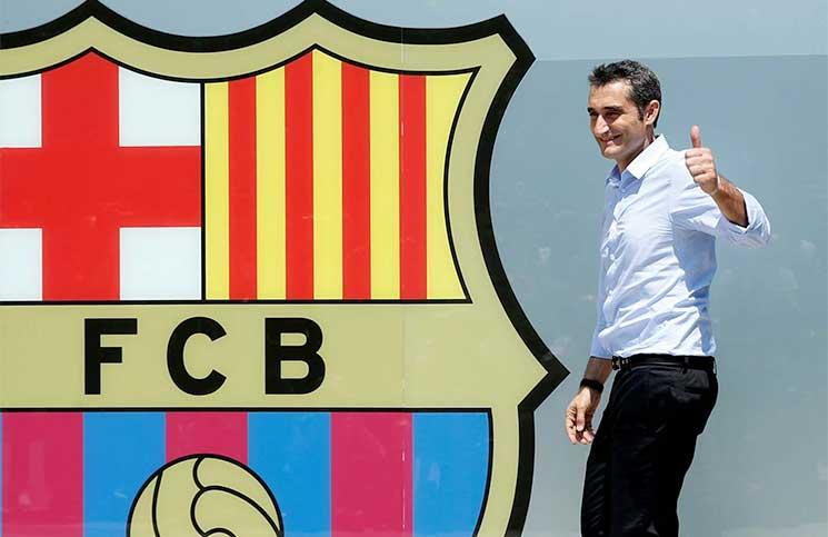 فالفيردي مقتنع بالتشكيلة الحالية لبرشلونة