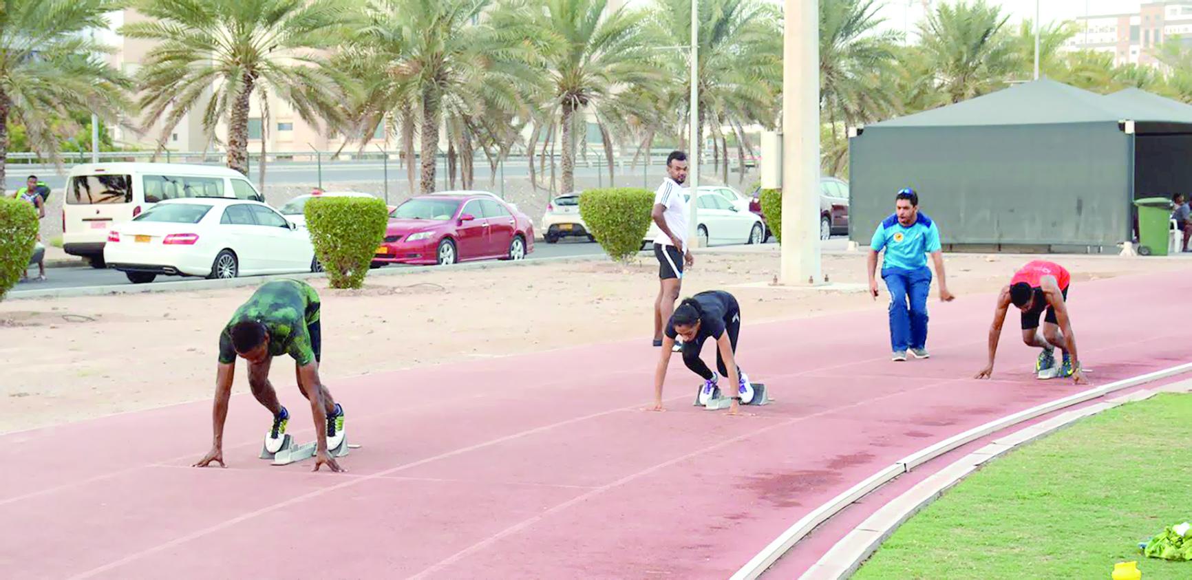 غدا.. انطلاق بطولة عمانالمفتوحة لألعاب القوى