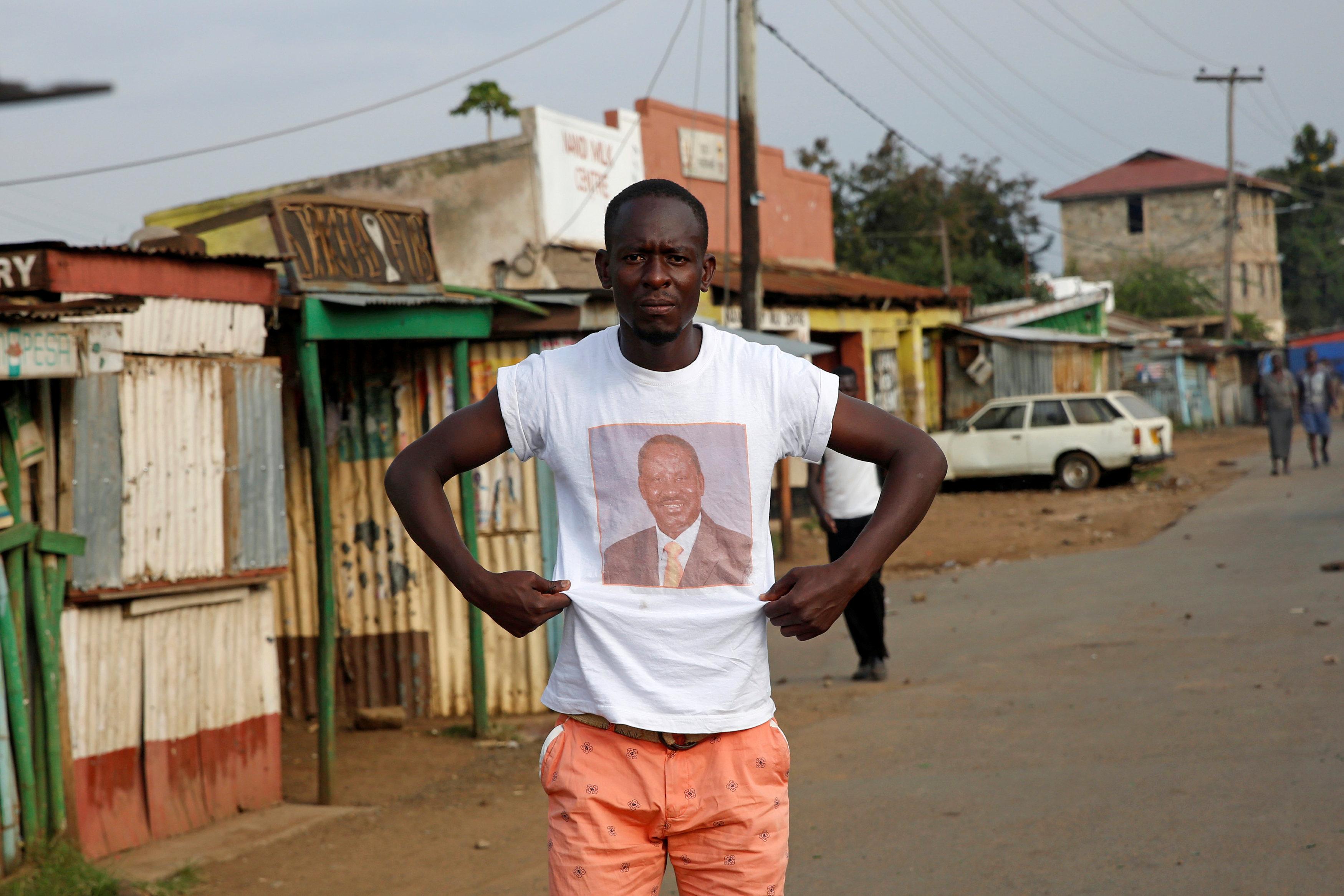 In pictures: Violence erupts in Kenya after polls