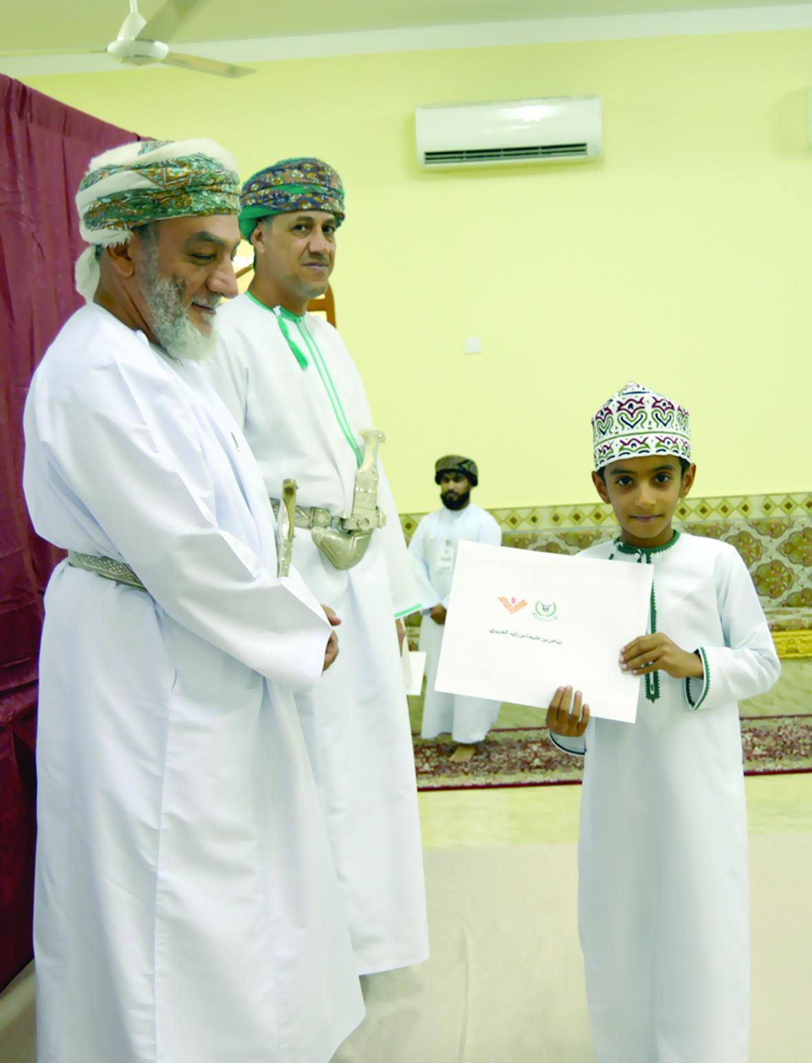 تكريم المنظمين والداعمين والمشاركين في «فرحة عيد» بالعوابي