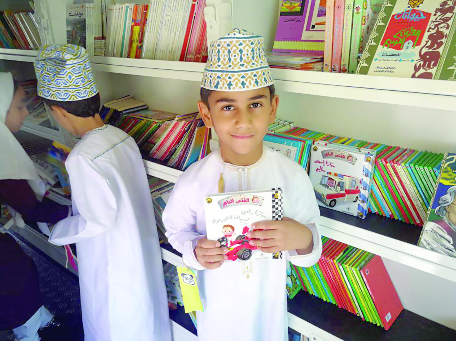 فعالية ثقافية لمبادرة «أنا أقرأ» بولاية العوابي