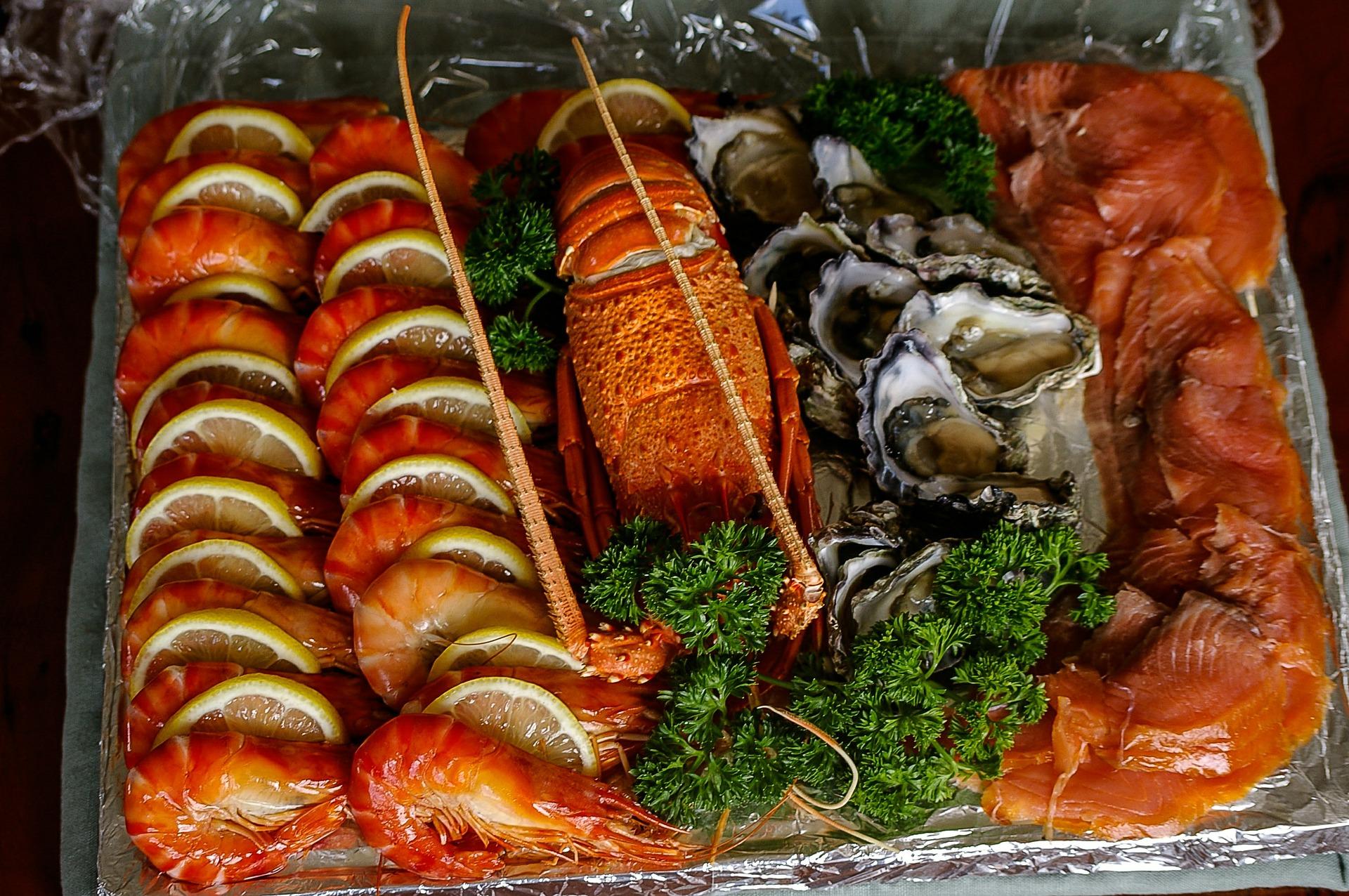 تعرف على فوائد صحية للمأكولات البحرية