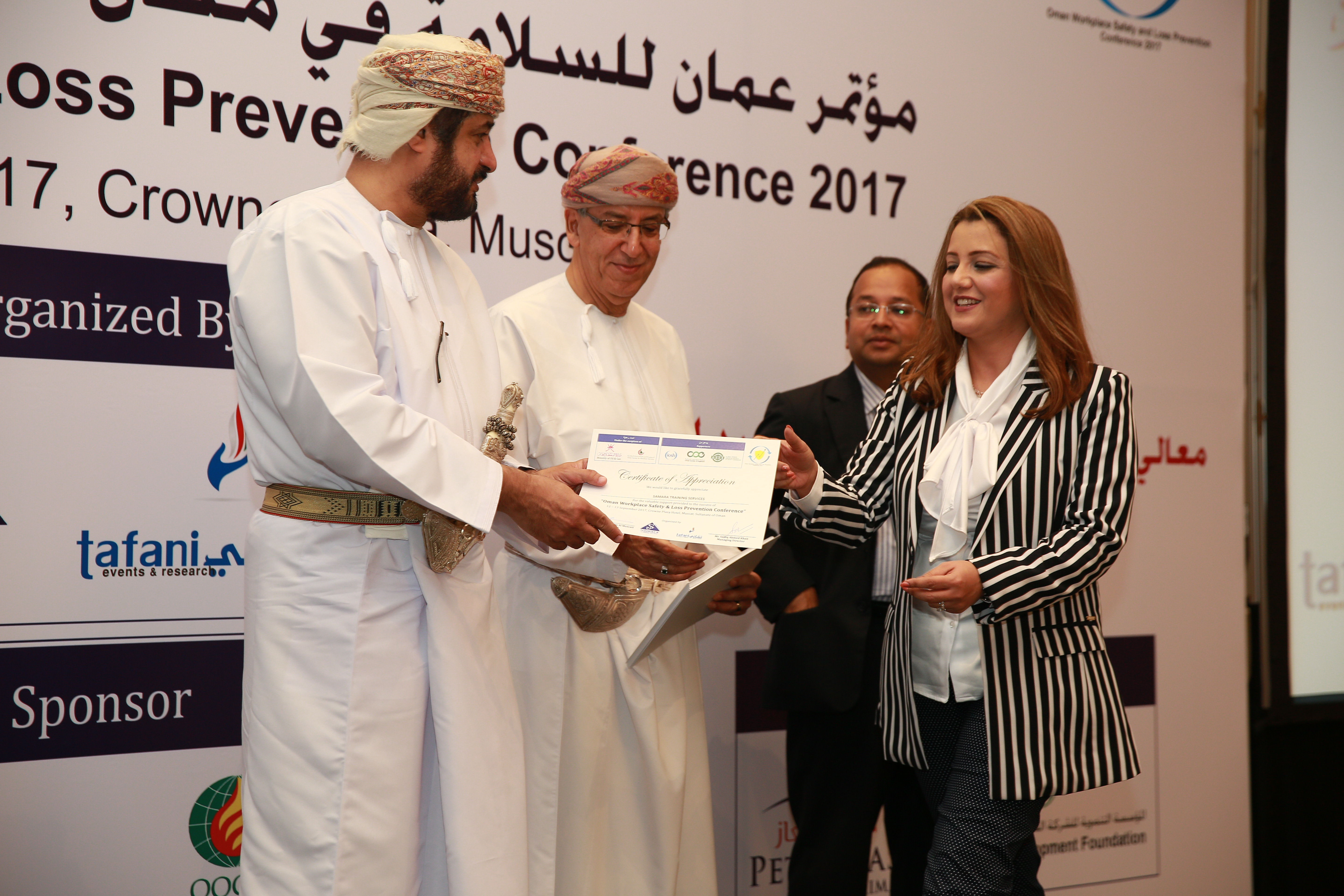 Oman Workplace Safety & Loss Prevention Conference held