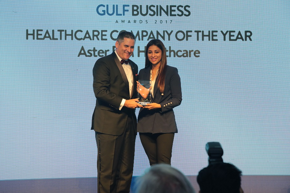 Aster DM Healthcare bags Gulf Business Awards