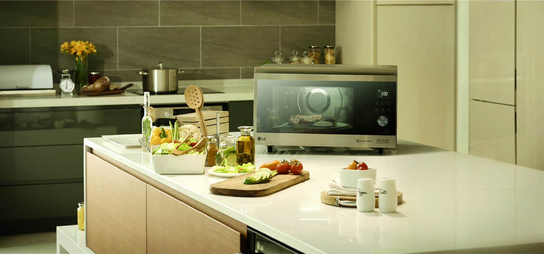 LG introduces new Neochef microwave oven in Oman