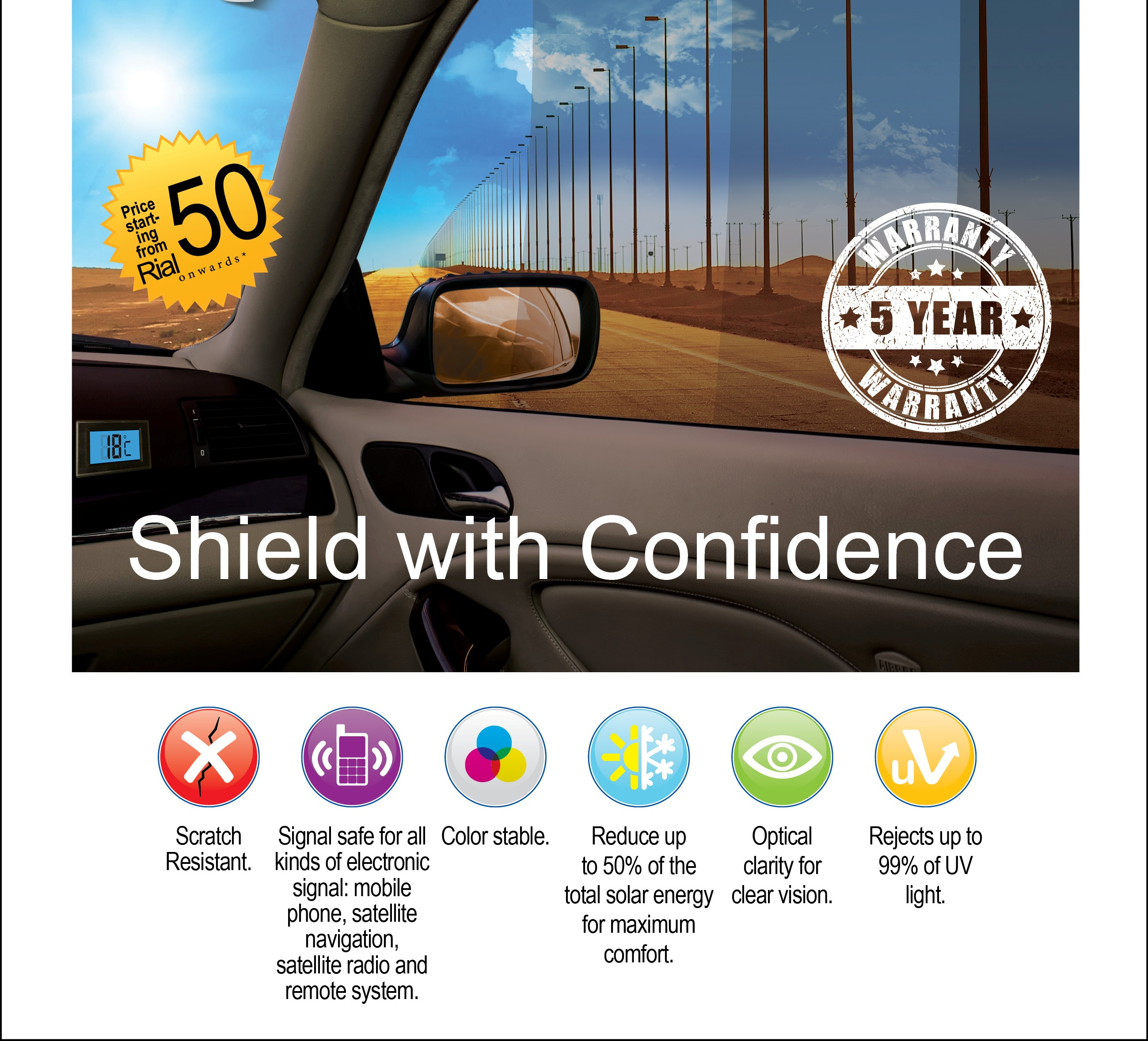 Stay cool with ACDelco Shield