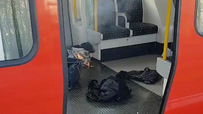 Blast on London underground train leaves 22 injured