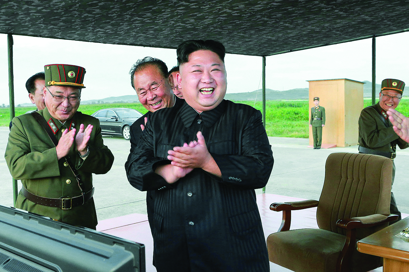 North Korea seeking military 'equilibrium' with U.S.