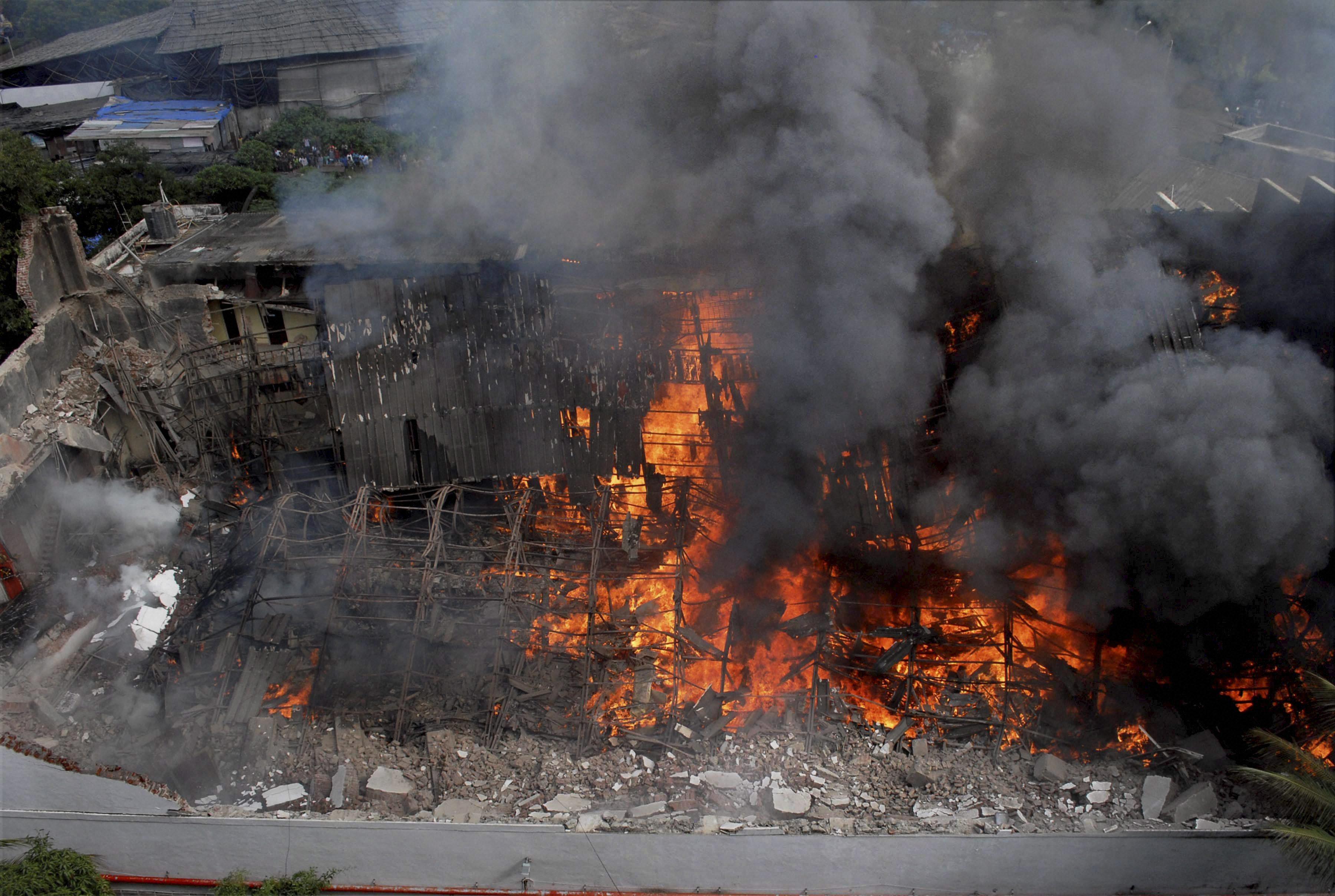 Major fire at iconic R K Studio in Mumbai